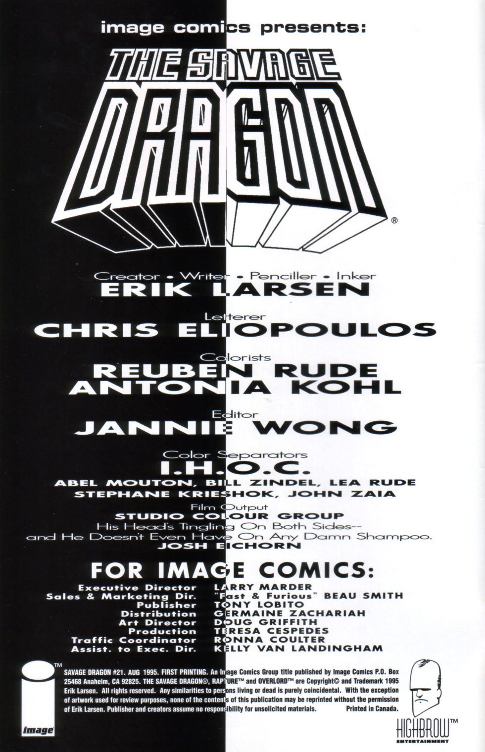 The Savage Dragon (1993) Issue #21 #24 - English 3