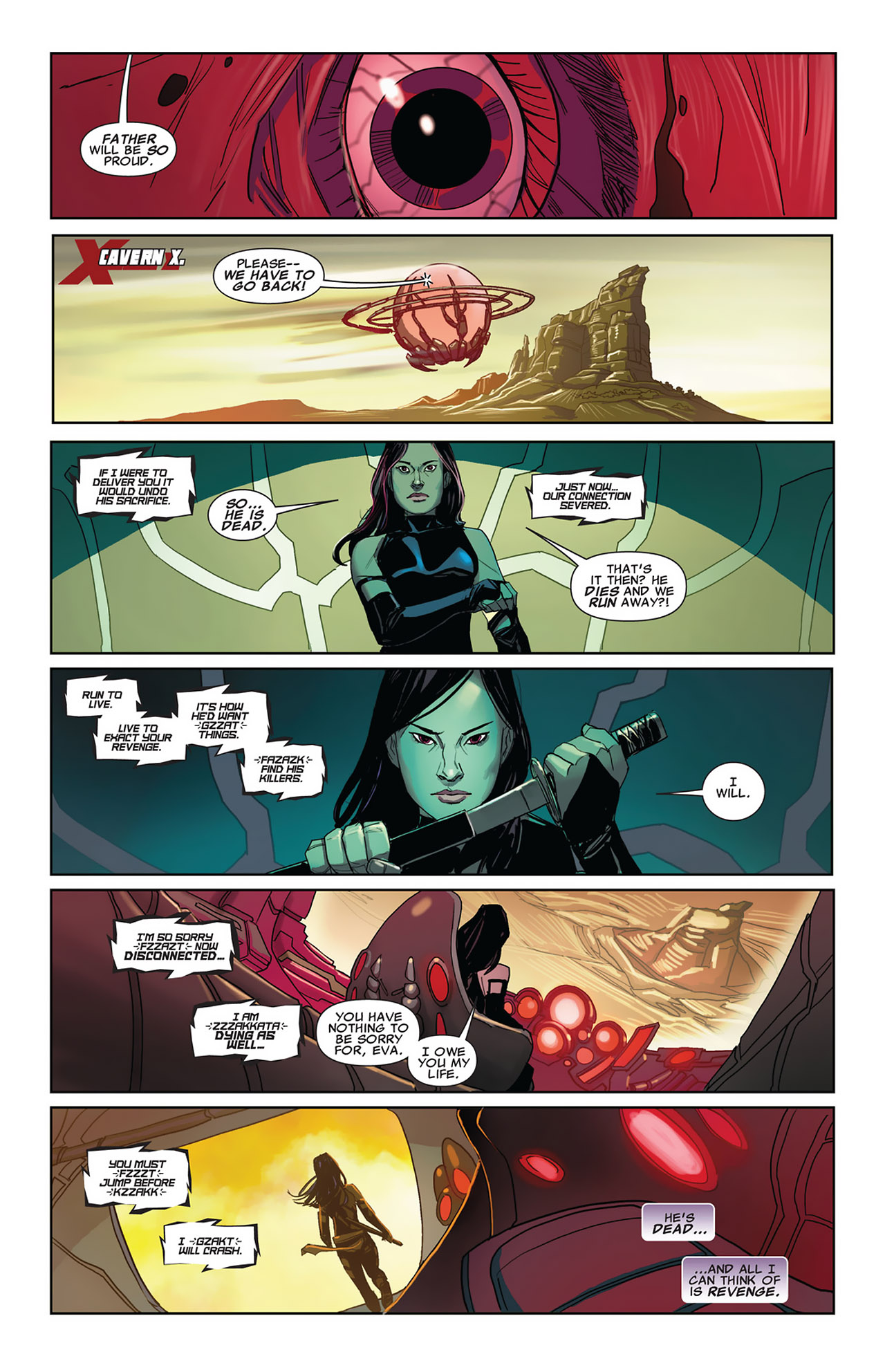 Read online Uncanny X-Force (2010) comic -  Issue #27 - 17