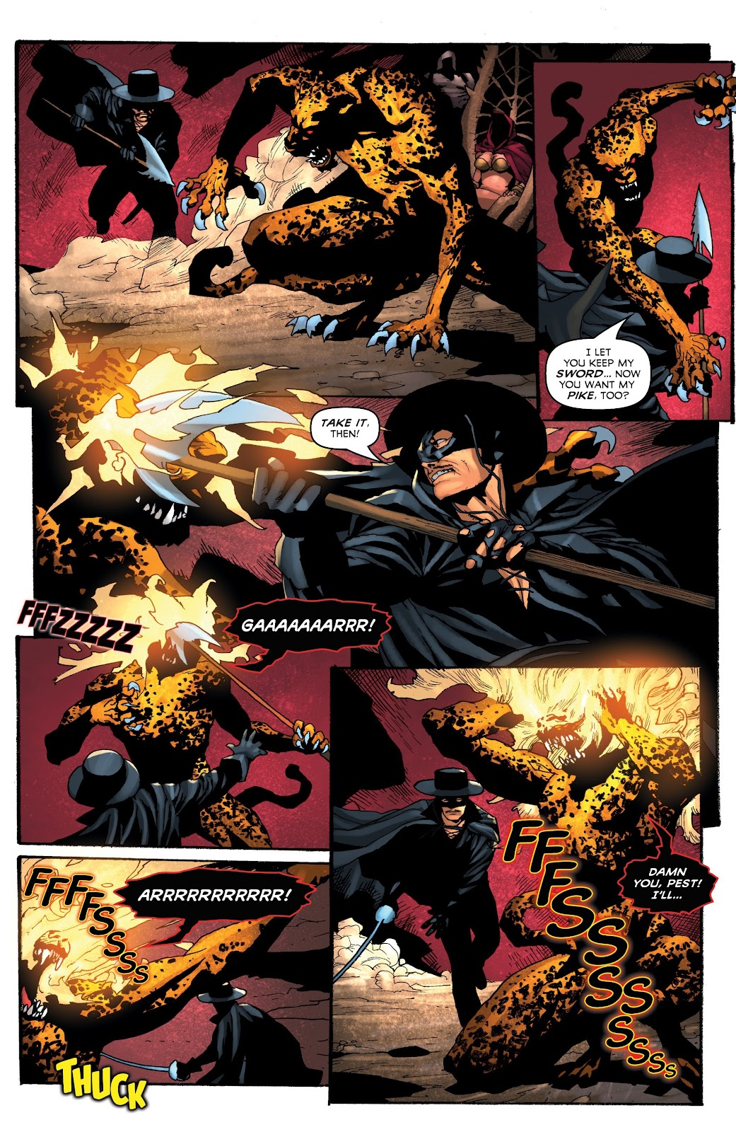 Read online Zorro: Swords of Hell comic -  Issue #4 - 19