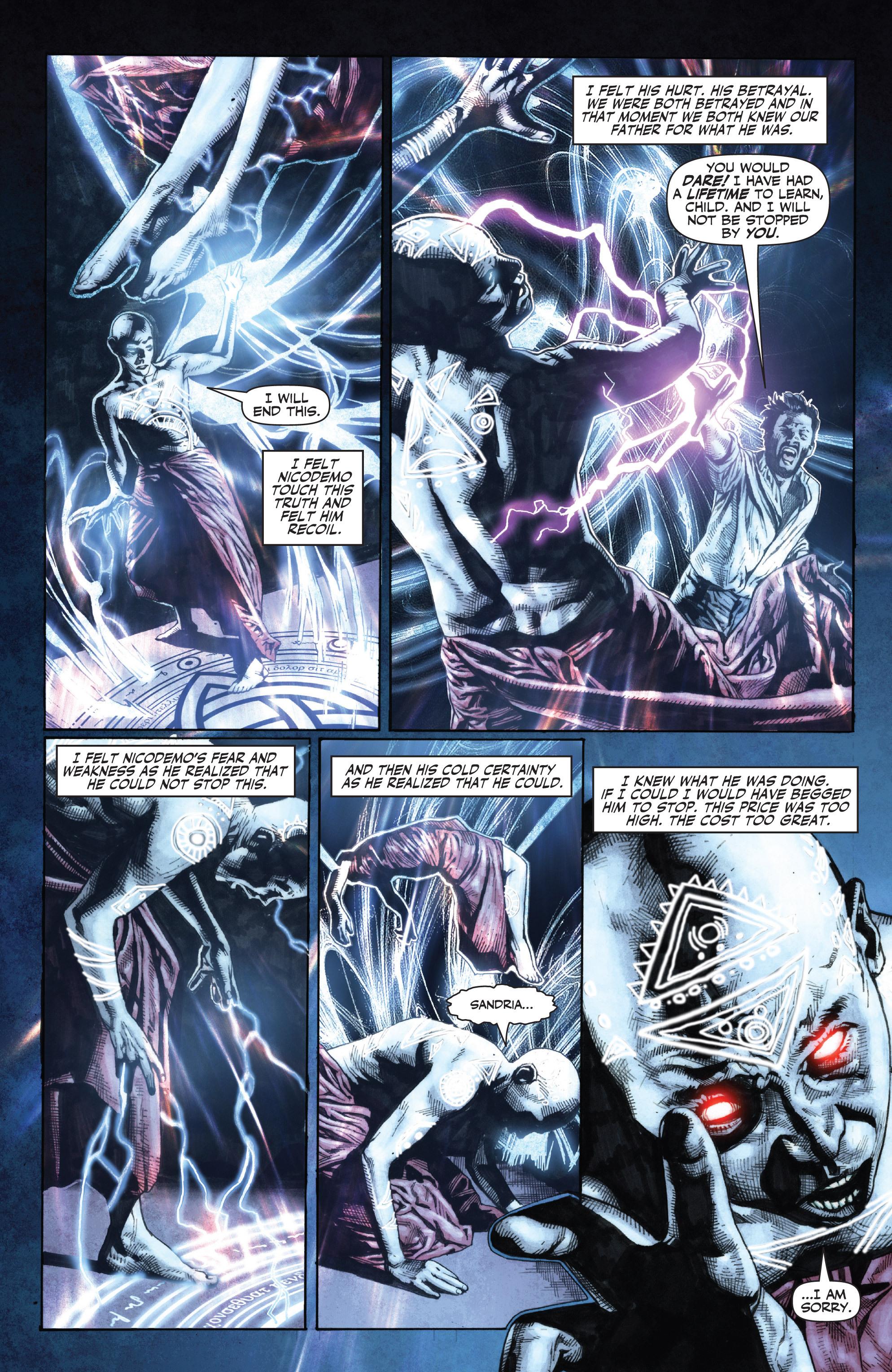 Read online Shadowman (2012) comic -  Issue #0 - 22