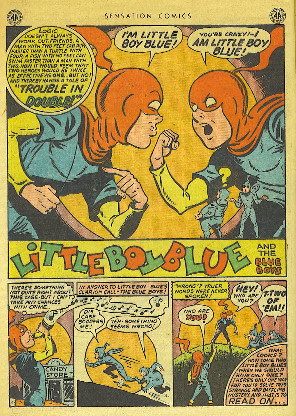 Read online Sensation (Mystery) Comics comic -  Issue #42 - 16