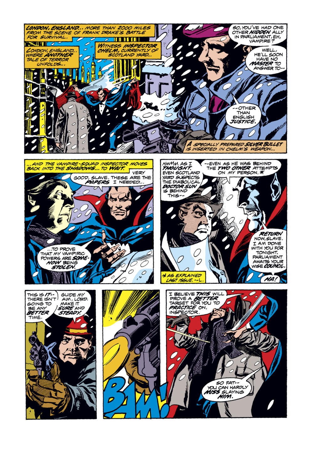 Tomb of Dracula (1972) issue 34 - Page 6