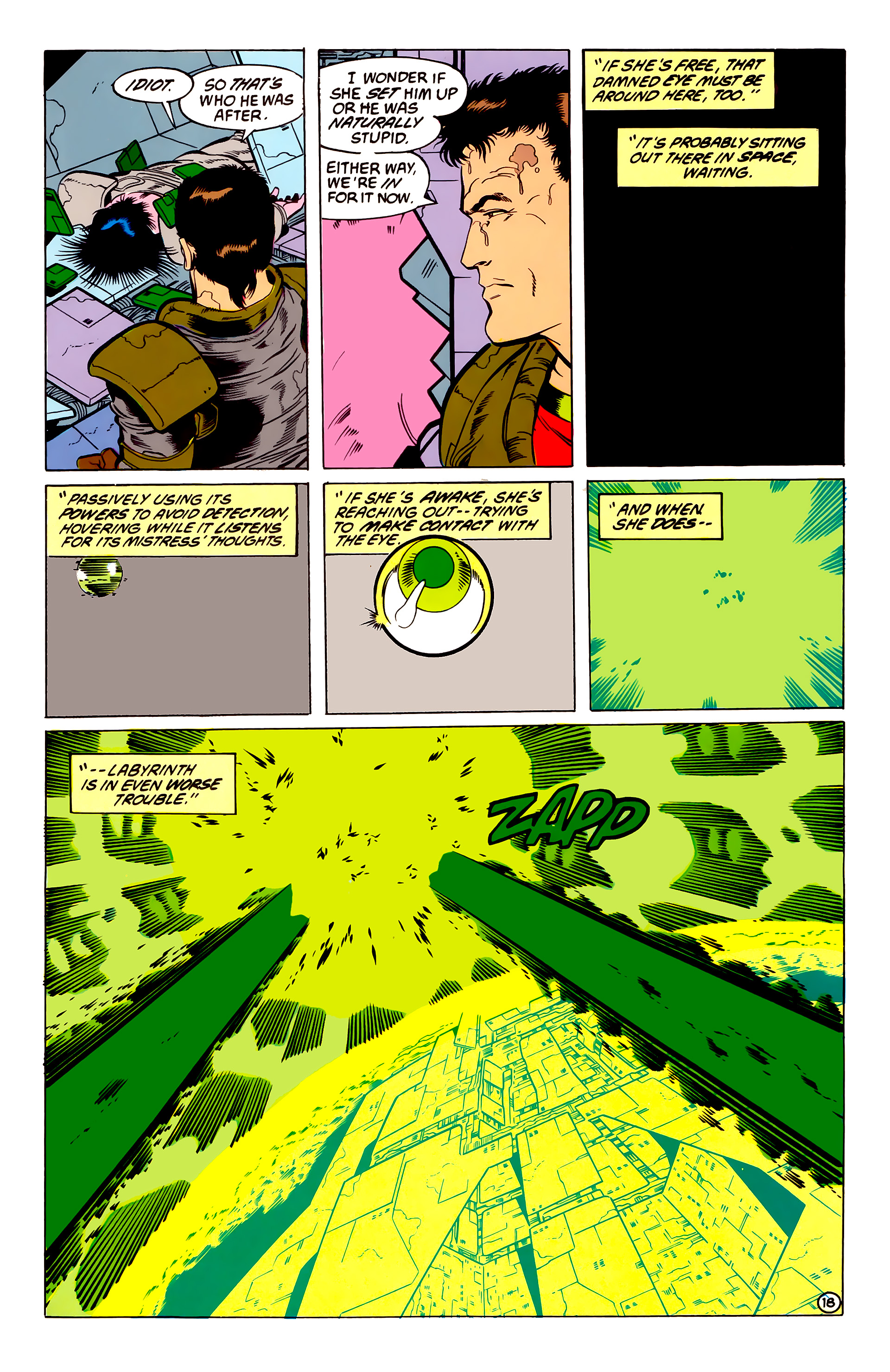 Legion of Super-Heroes (1984) 54 Page 18