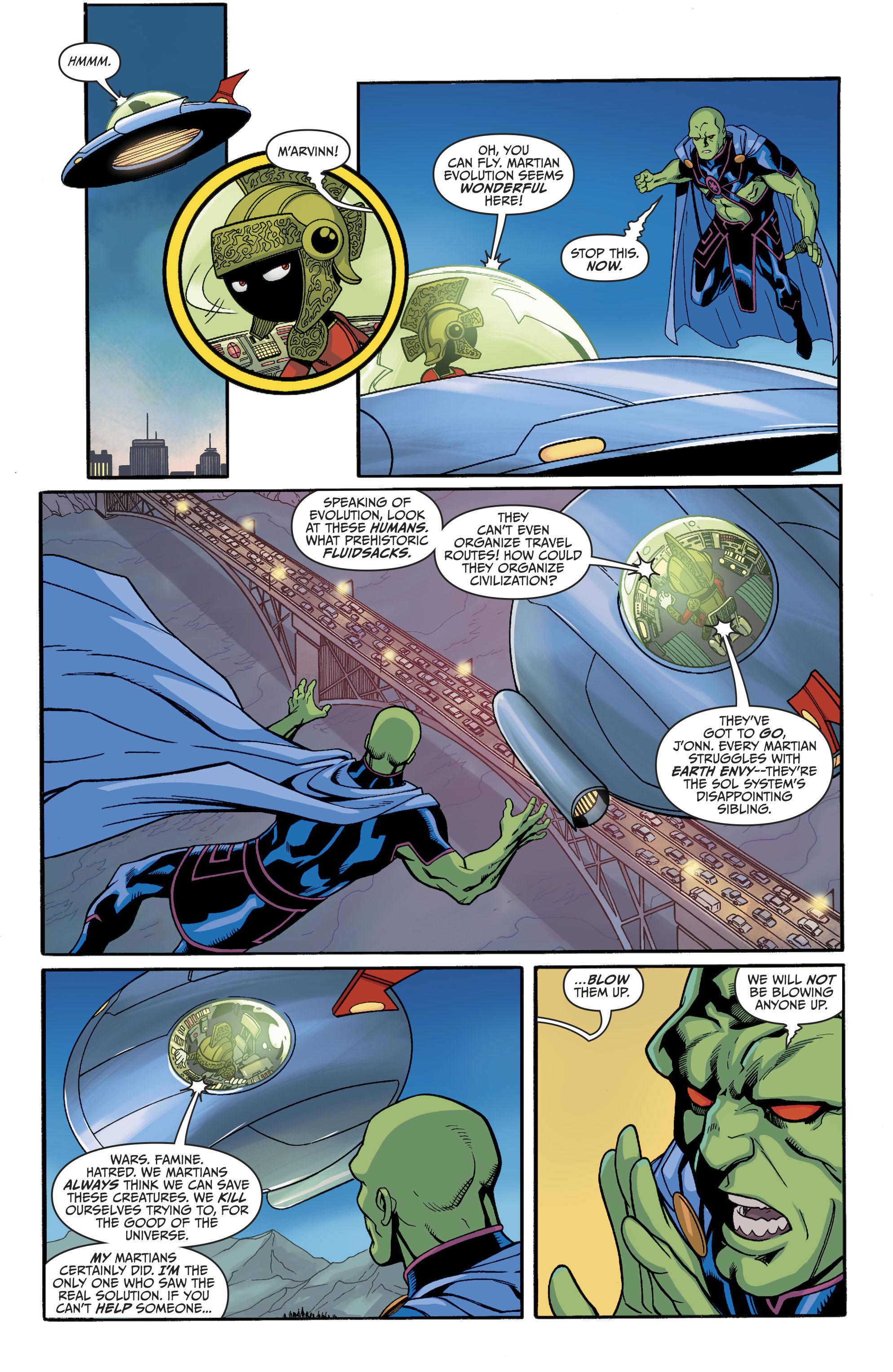 Read online Martian Manhunter/Marvin the Martian Special comic -  Issue # Full - 12