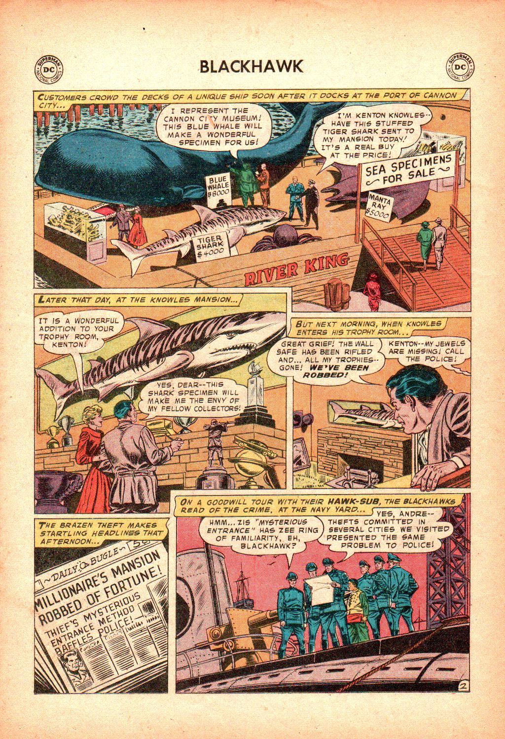 Blackhawk (1957) Issue #128 #21 - English 26