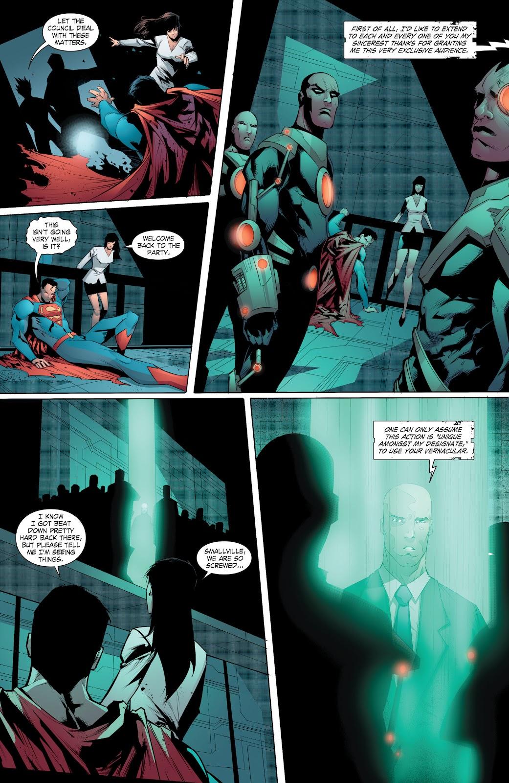 Read online Smallville Season 11 [II] comic -  Issue # TPB 8 - 141