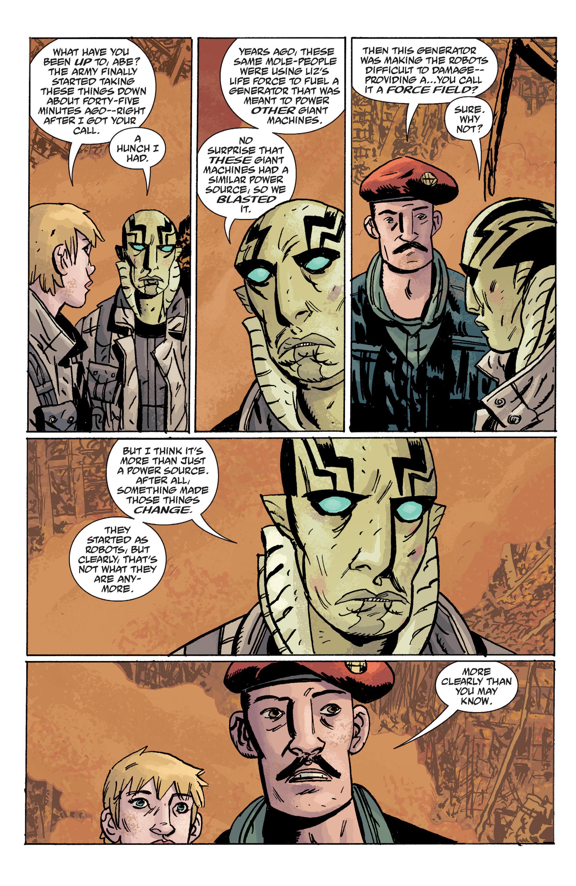 Read online B.P.R.D. (2003) comic -  Issue # TPB 10 - 124
