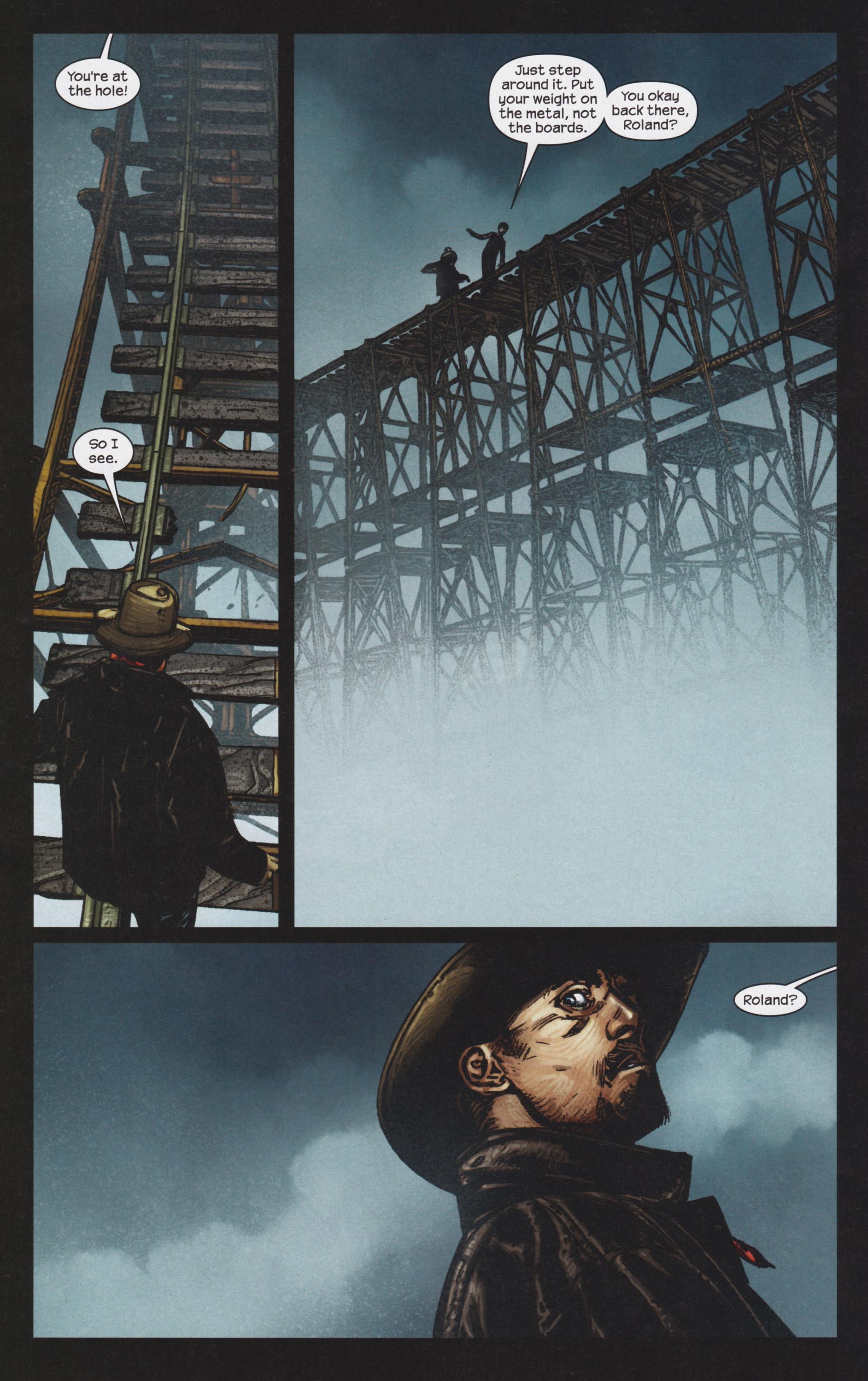 Read online Dark Tower: The Gunslinger - The Man in Black comic -  Issue #4 - 15