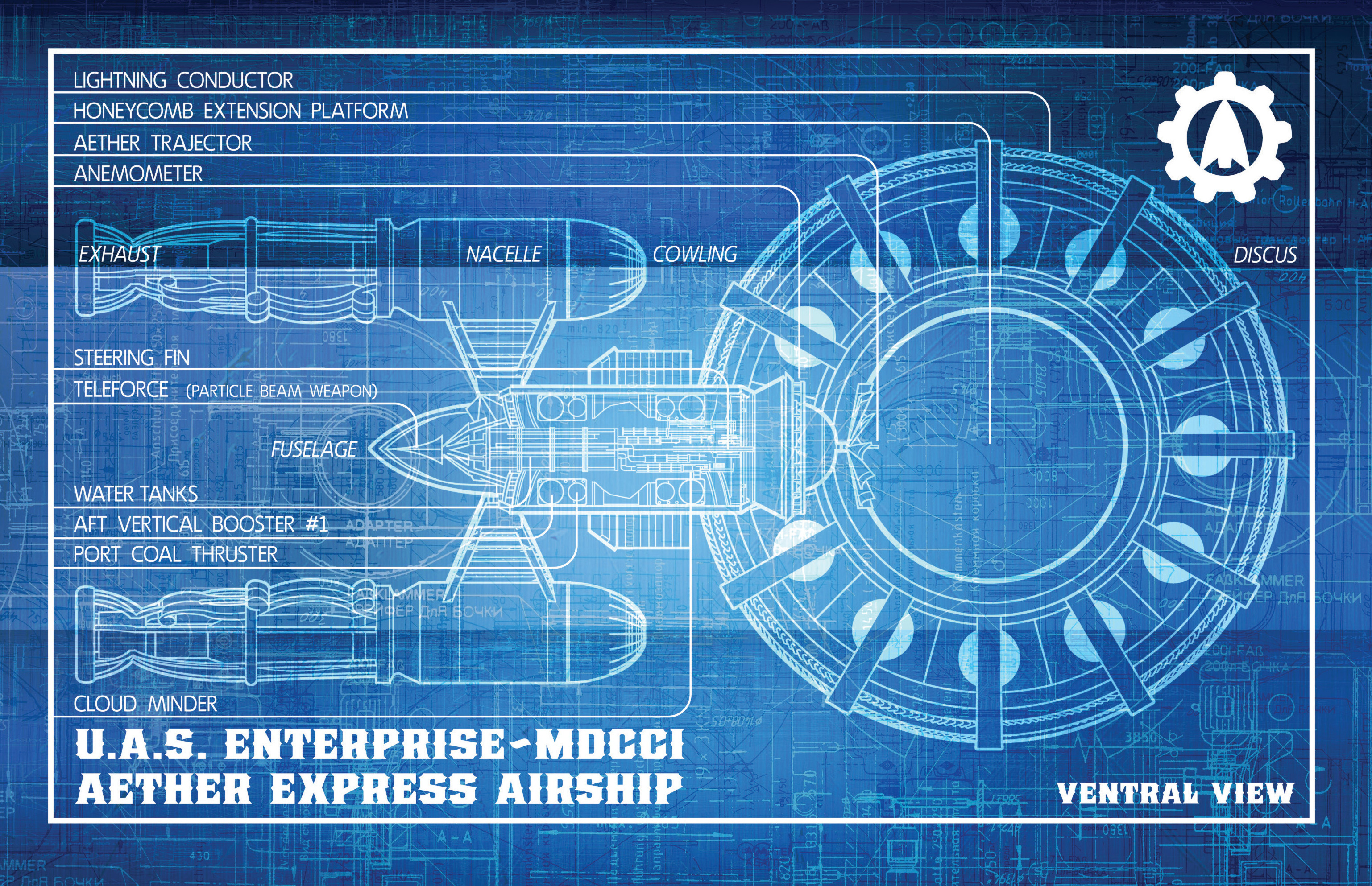 Read online Airship Enterprise: The Infernal Machine comic -  Issue #3 - 21