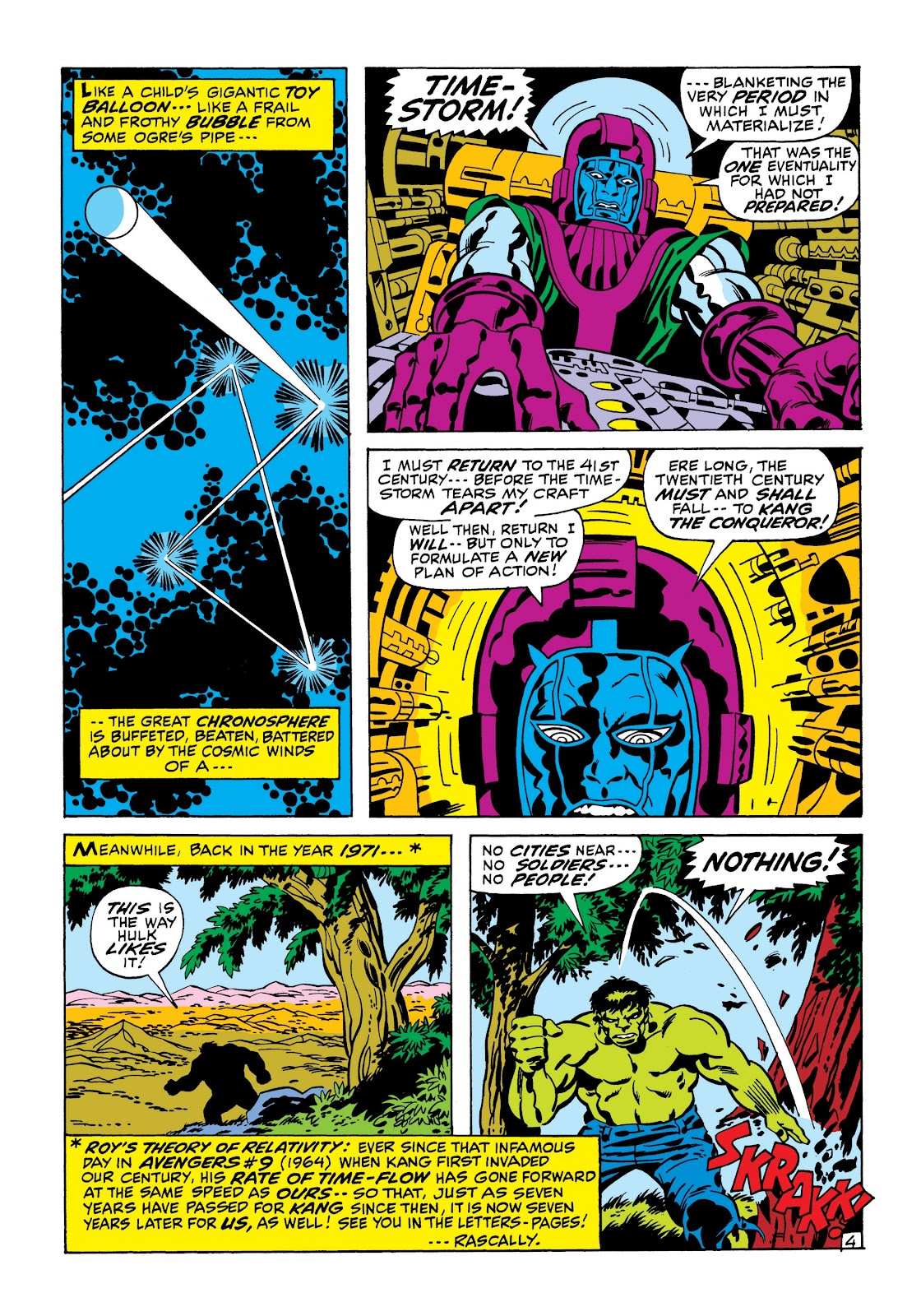 Read online Marvel Masterworks: The Incredible Hulk comic -  Issue # TPB 7 (Part 1) - 11