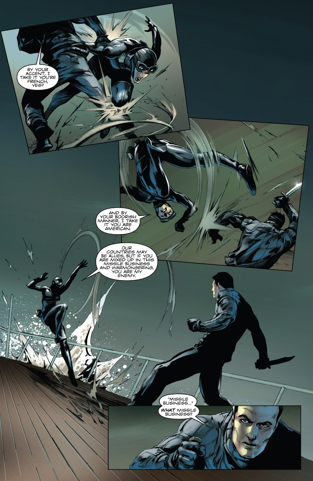 Read online Codename: Action comic -  Issue #3 - 20