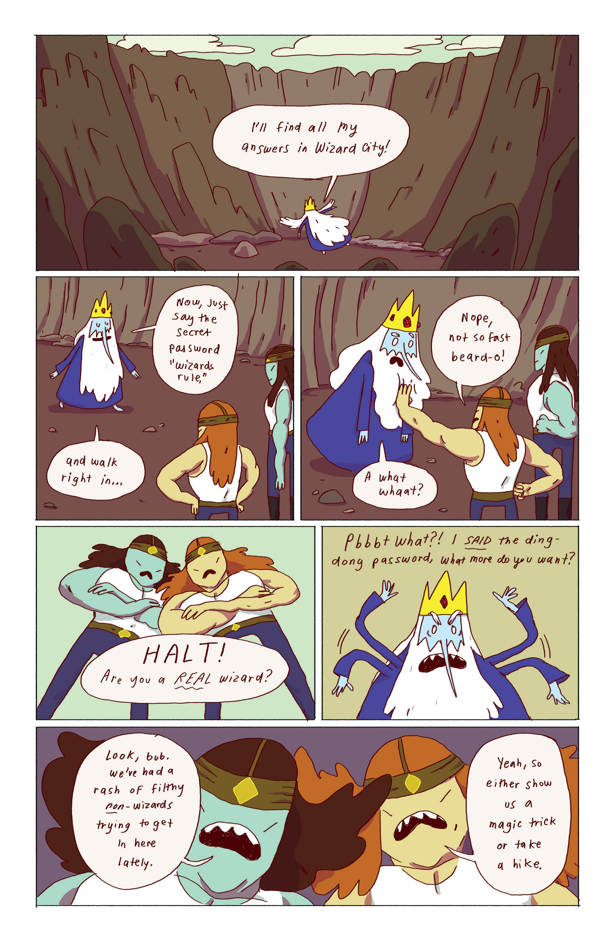 Read online Adventure Time: Ice King comic -  Issue #1 - 15