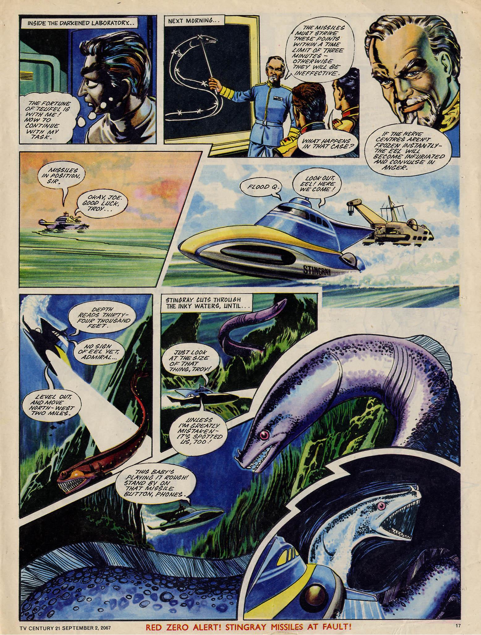 Read online TV Century 21 (TV 21) comic -  Issue #137 - 16
