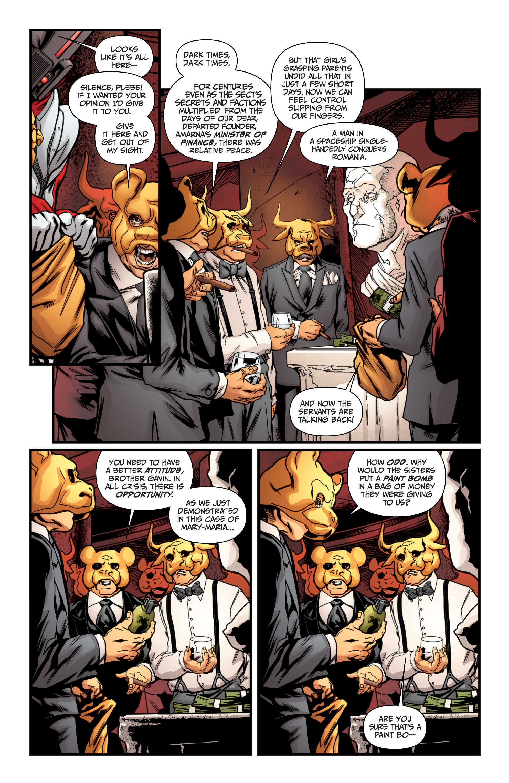 Read online Archer and Armstrong comic -  Issue #Archer and Armstrong _TPB 4 - 26
