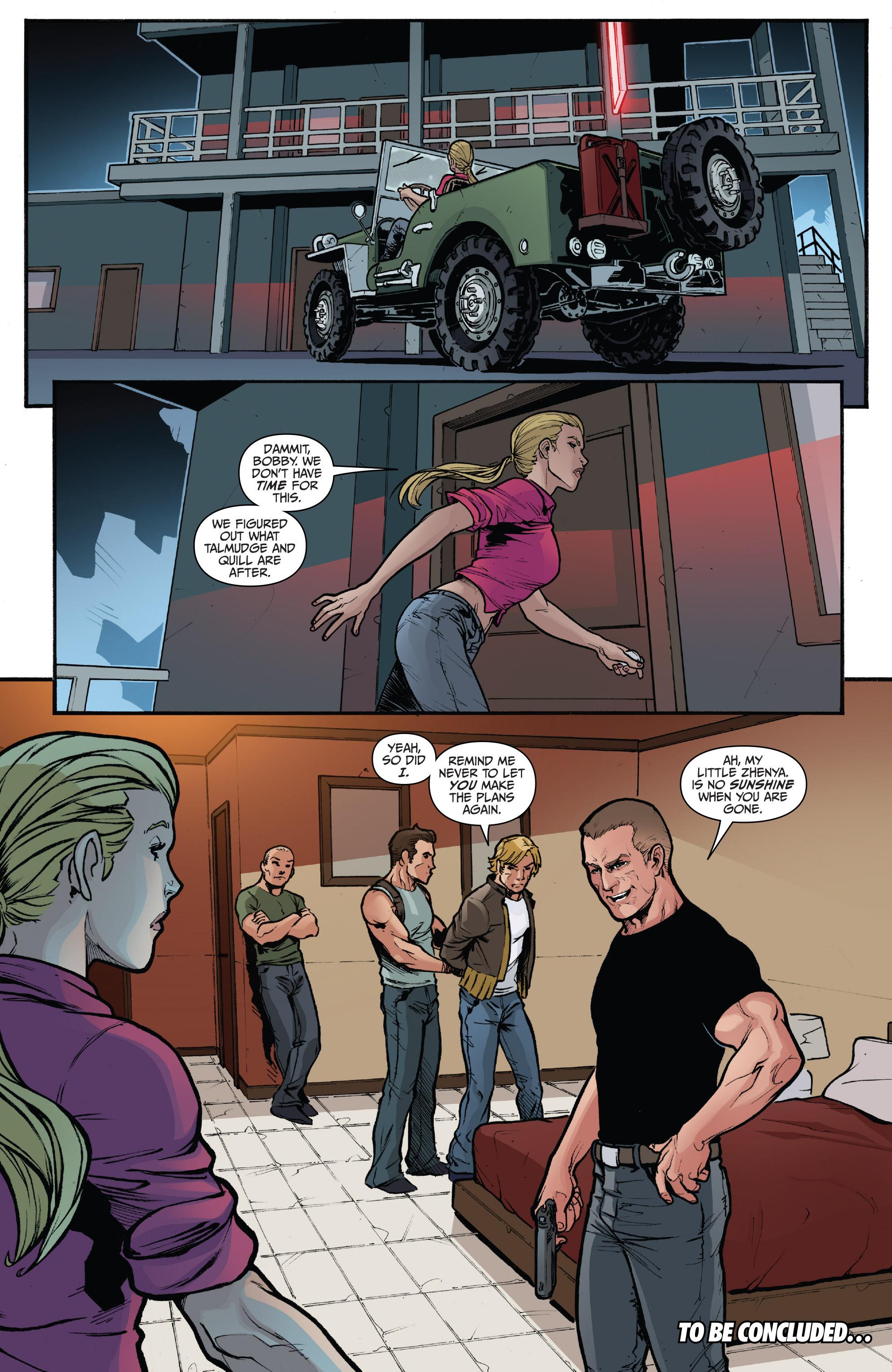 Read online 3 Guns comic -  Issue #5 - 24