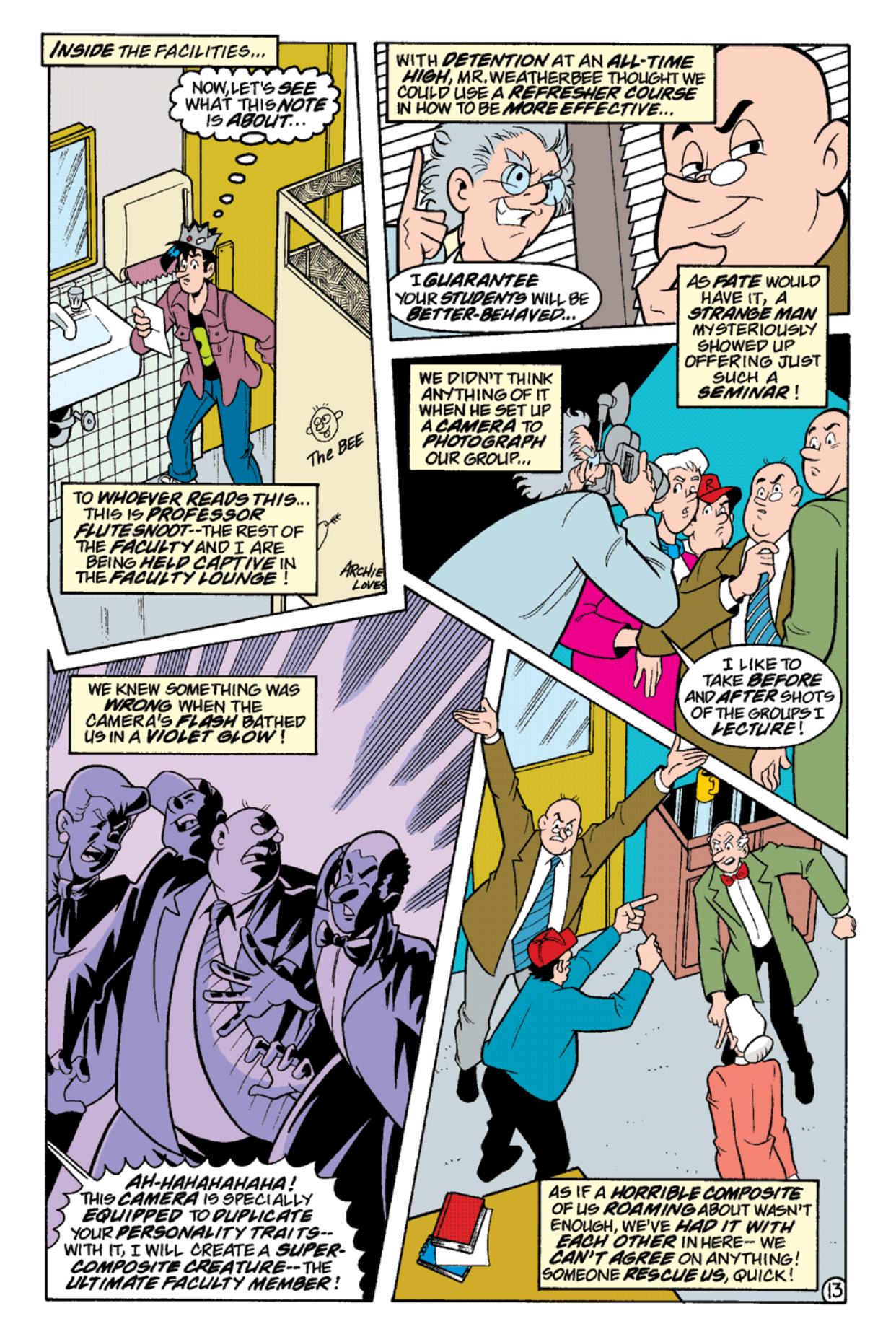 Read online Archie's Weird Mysteries comic -  Issue #16 - 15