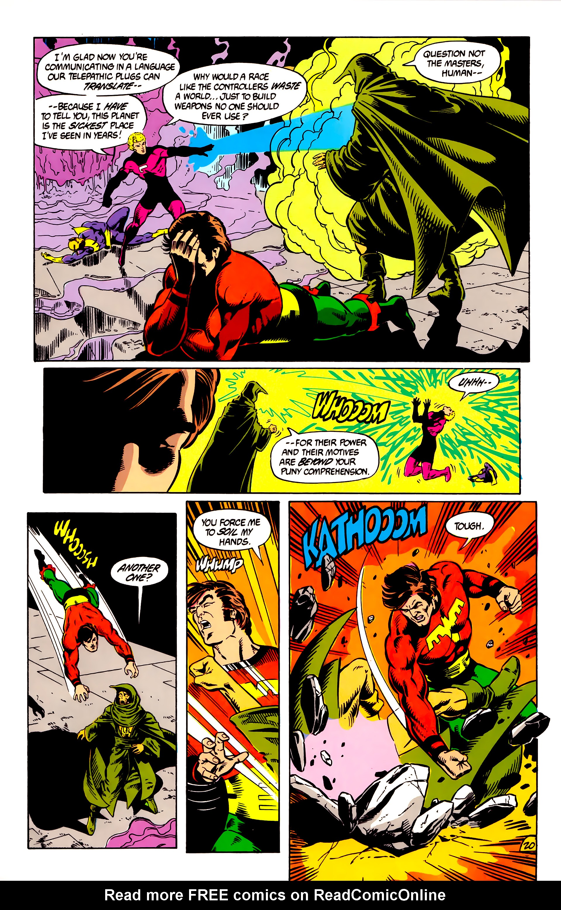 Legion of Super-Heroes (1984) 8 Page 21