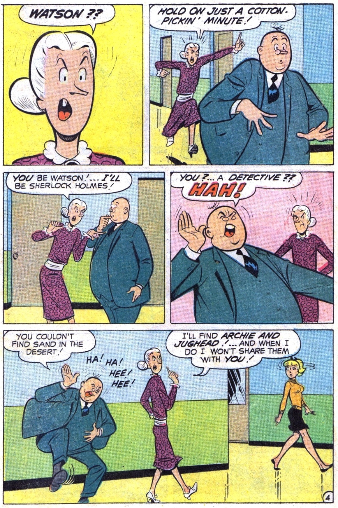 Read online Archie (1960) comic -  Issue #189 - 16