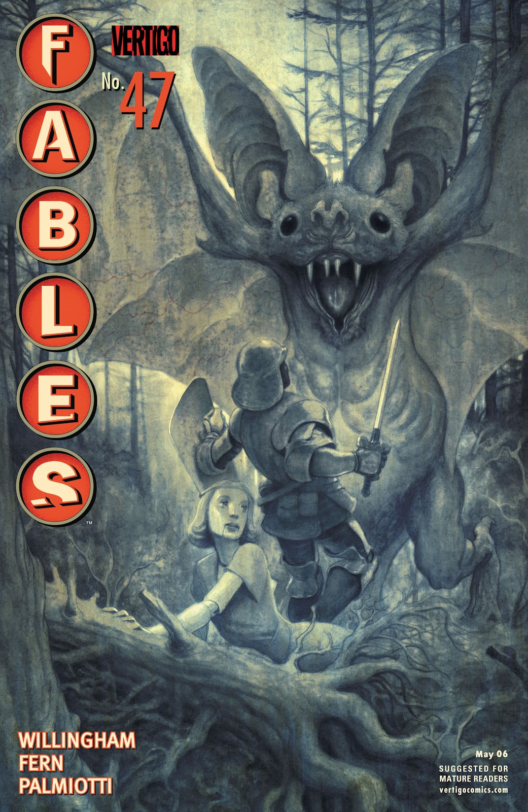 Fables issue 47 - Page 1