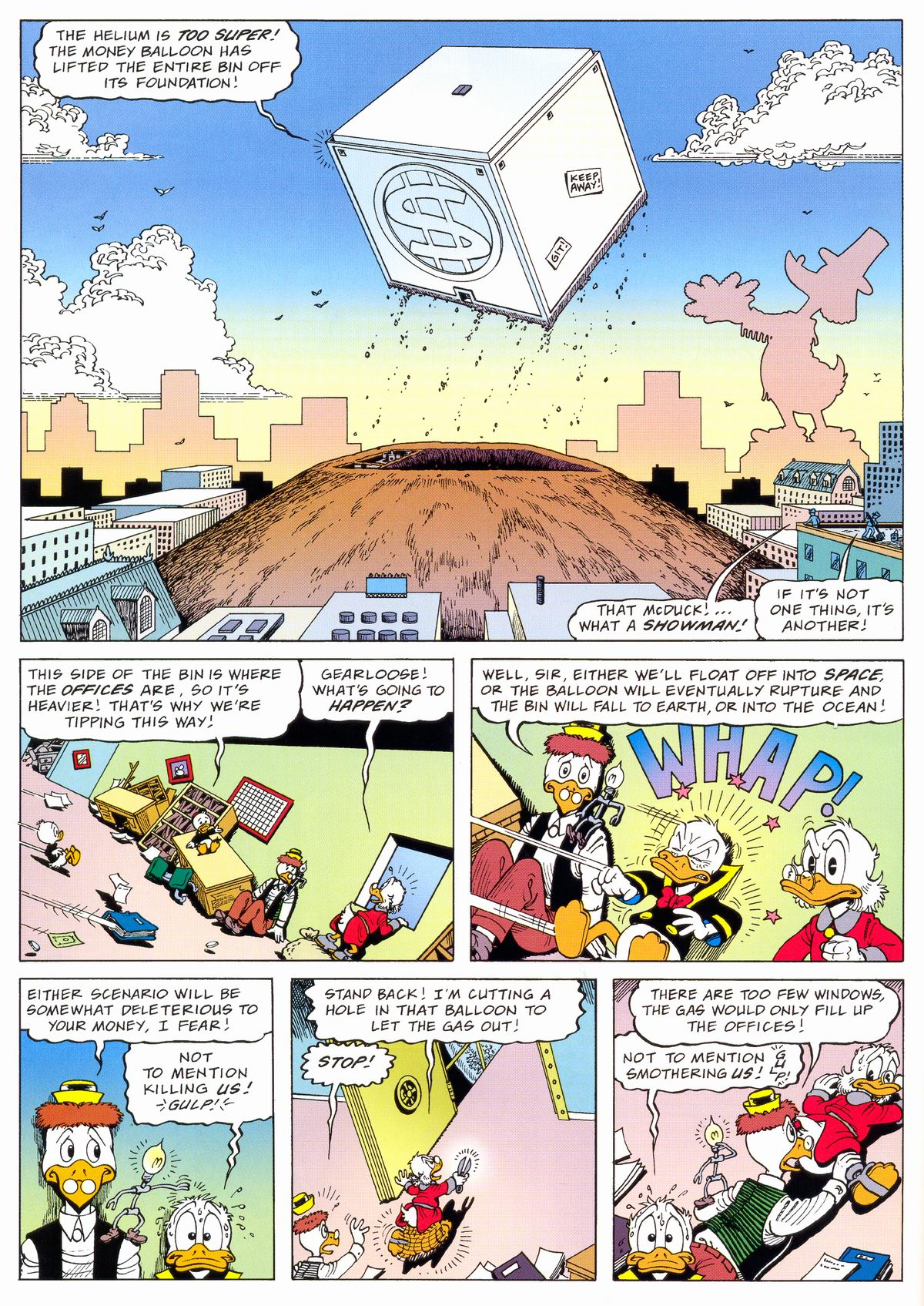 Read online Uncle Scrooge (1953) comic -  Issue #324 - 16