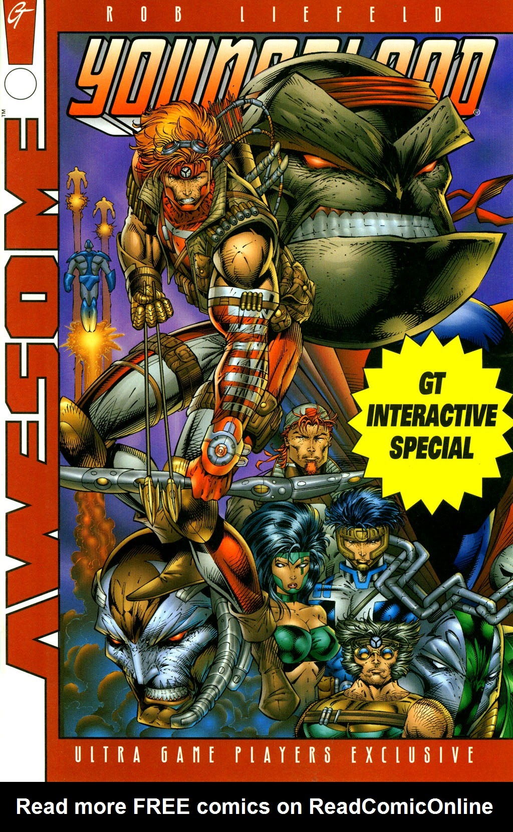 Youngblood GT Interactive Ultra Game Players Special Edition Full Page 1