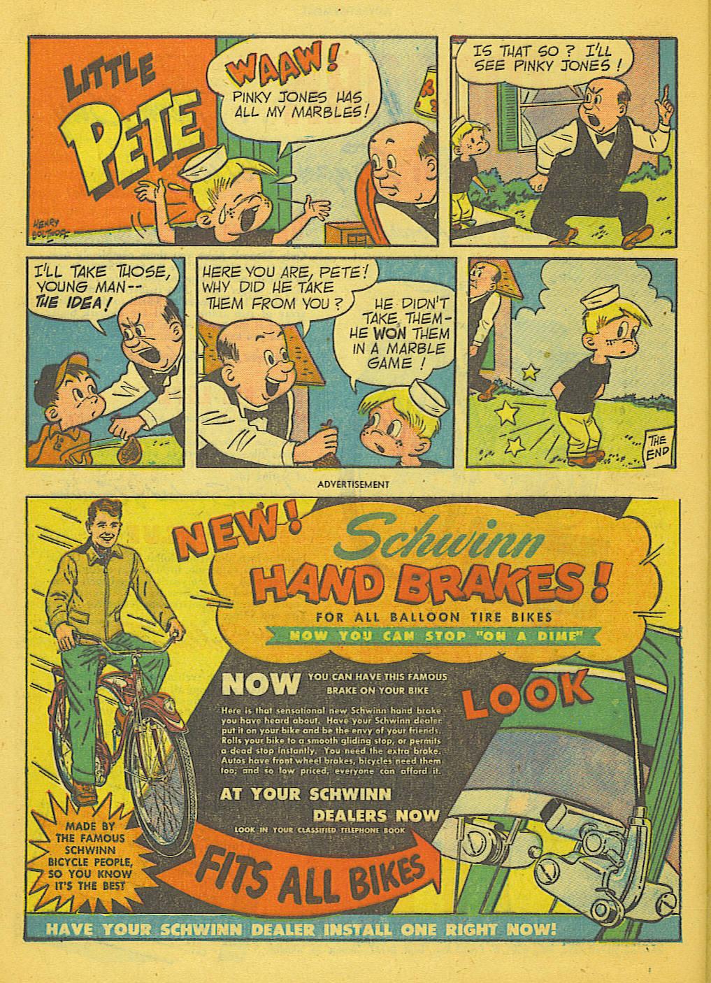 Read online Adventure Comics (1938) comic -  Issue #153 - 39