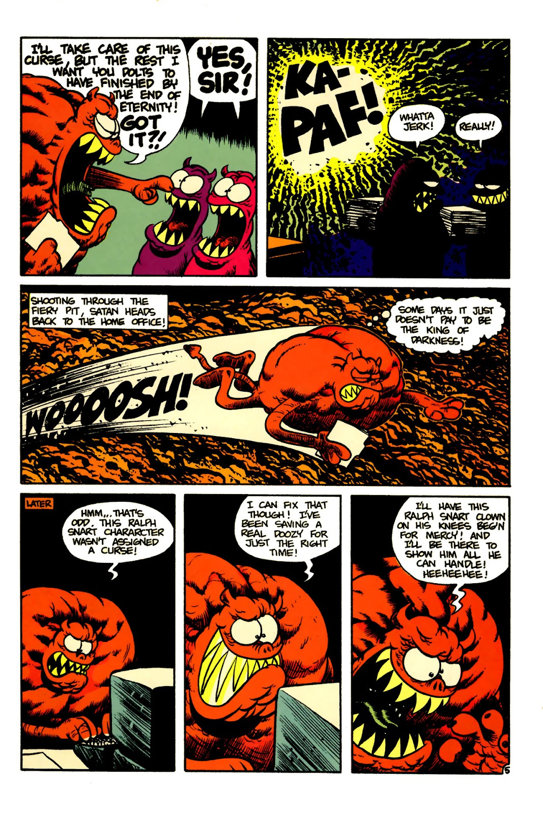 Ralph Snart Adventures (1988) issue 5 - Page 7