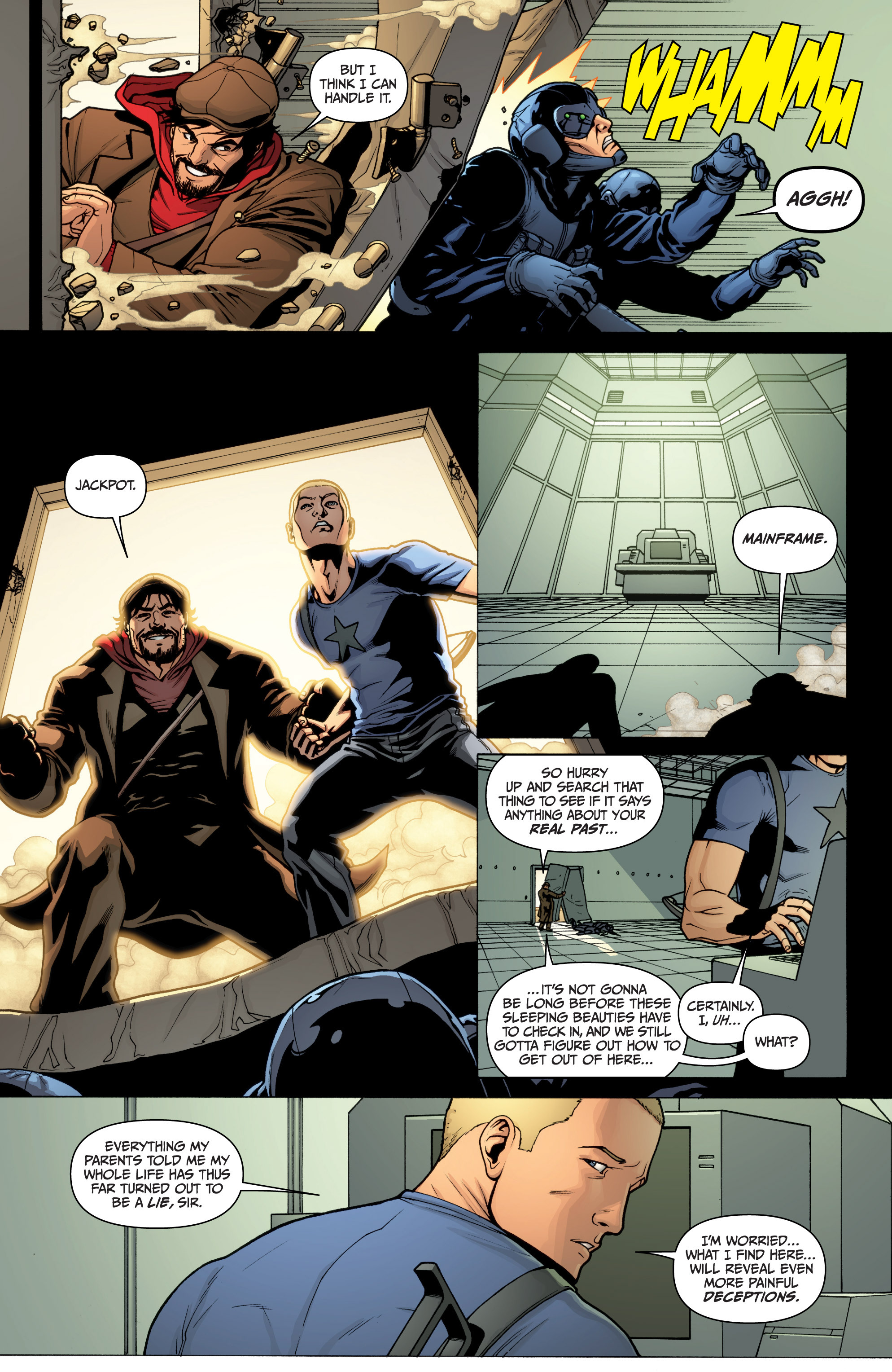 Read online Archer and Armstrong comic -  Issue #0 - 25