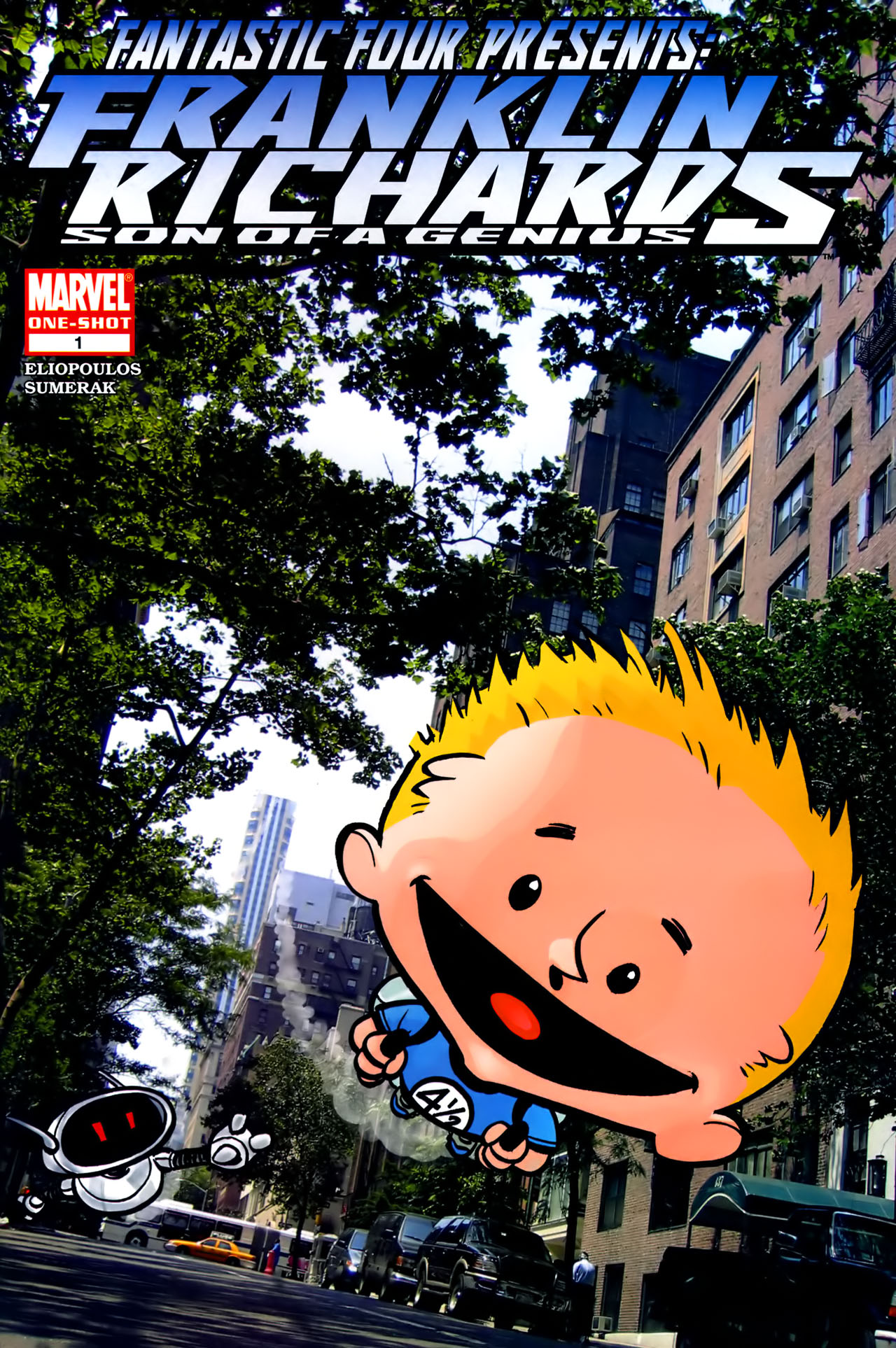 Fantastic Four Presents Franklin Richards: Son of a Genius Full Page 1