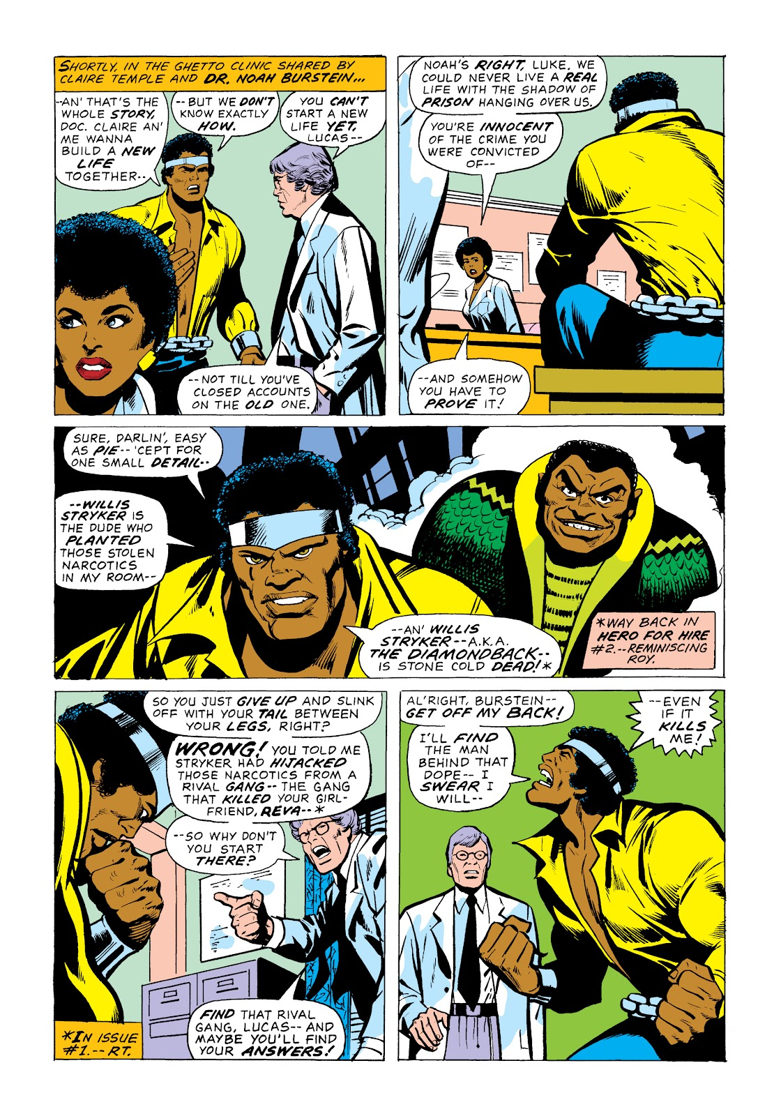 Read online Marvel Masterworks: Luke Cage, Power Man comic -  Issue # TPB 2 (Part 1) - 39