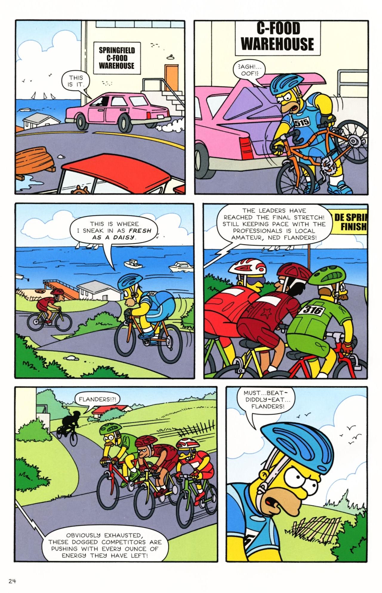 Read online Simpsons Comics comic -  Issue #166 - 20