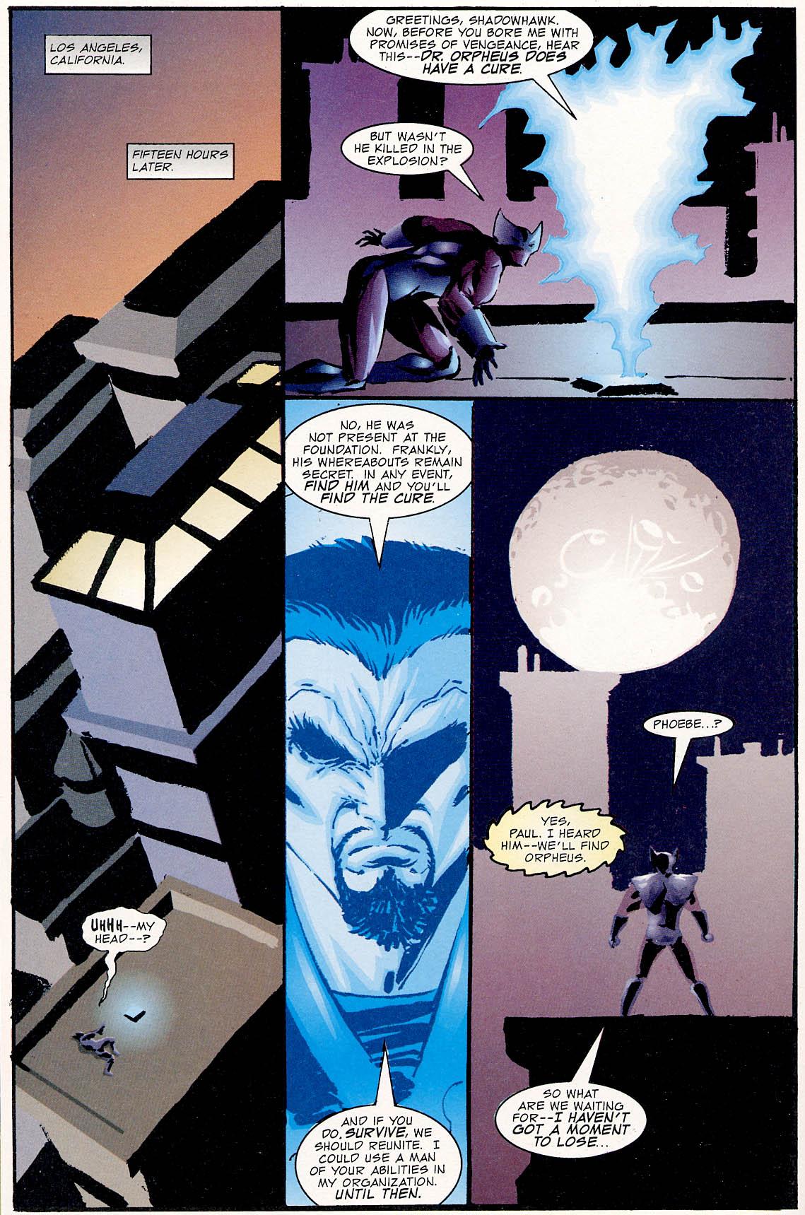 Read online ShadowHawk comic -  Issue #0 - 20