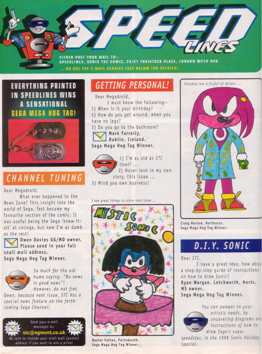 Read online Sonic the Comic comic -  Issue #83 - 31