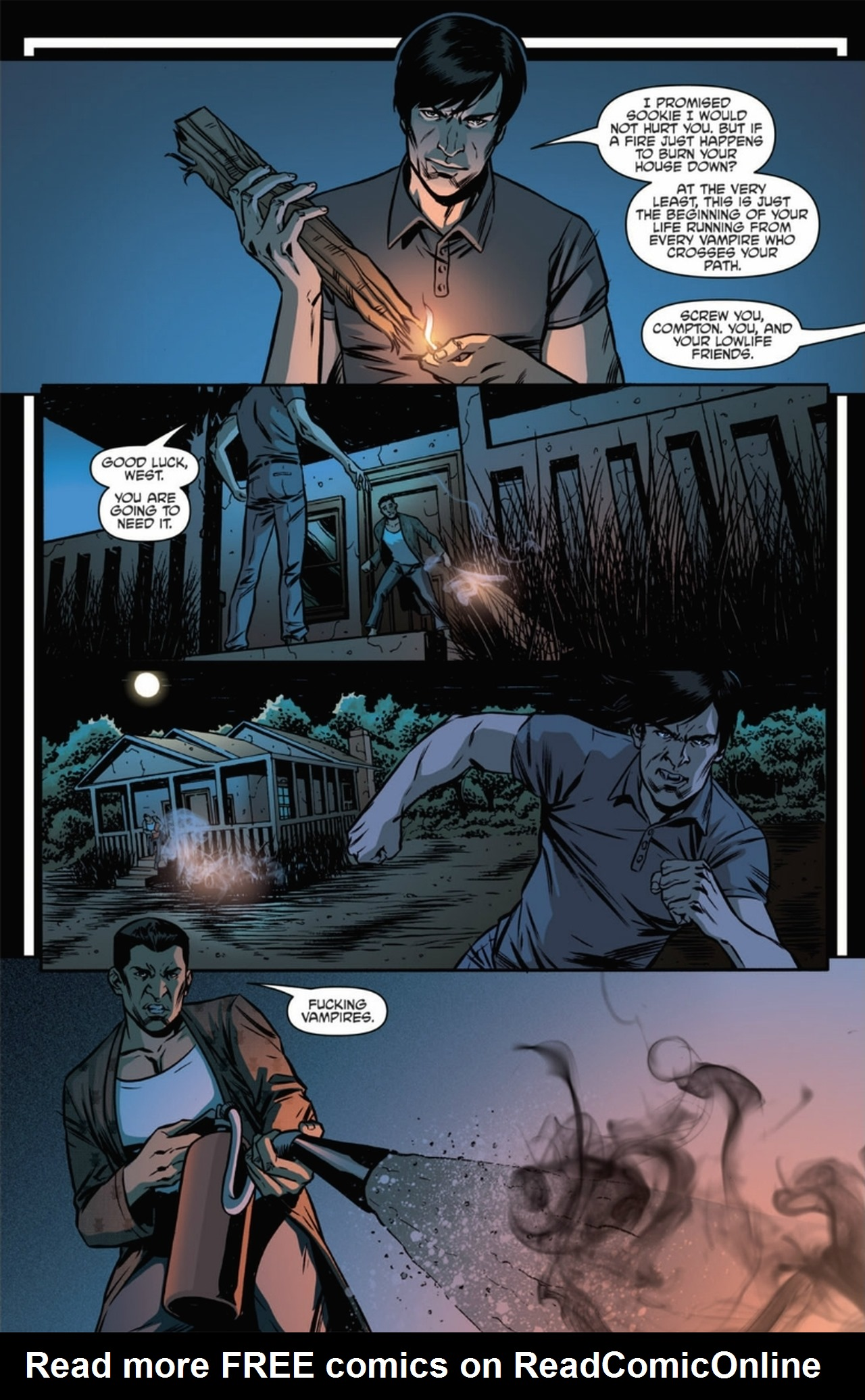 Read online True Blood: French Quarter comic -  Issue #6 - 18