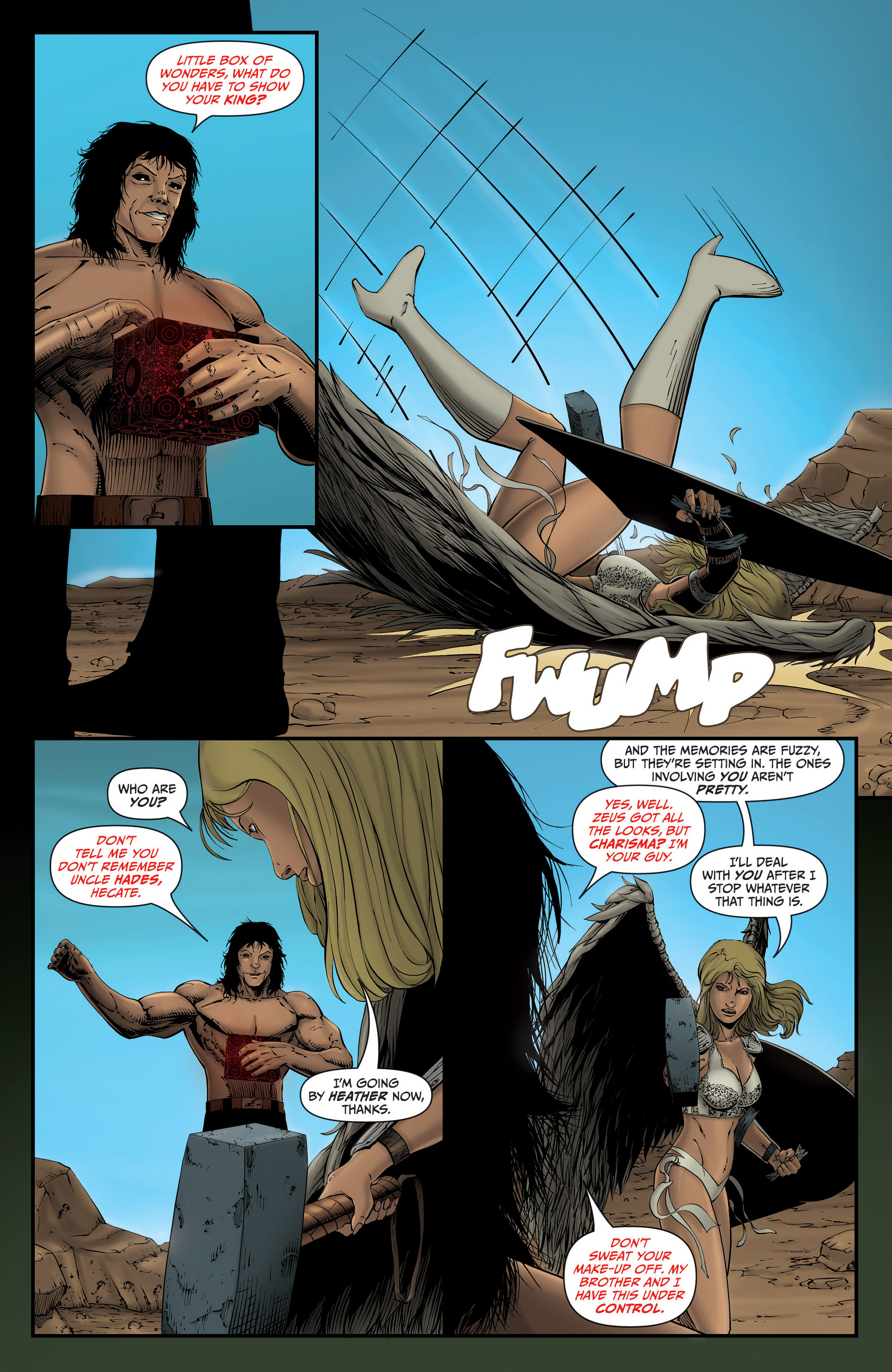 Read online Grimm Fairy Tales presents Grimm Universe comic -  Issue # TPB - 63