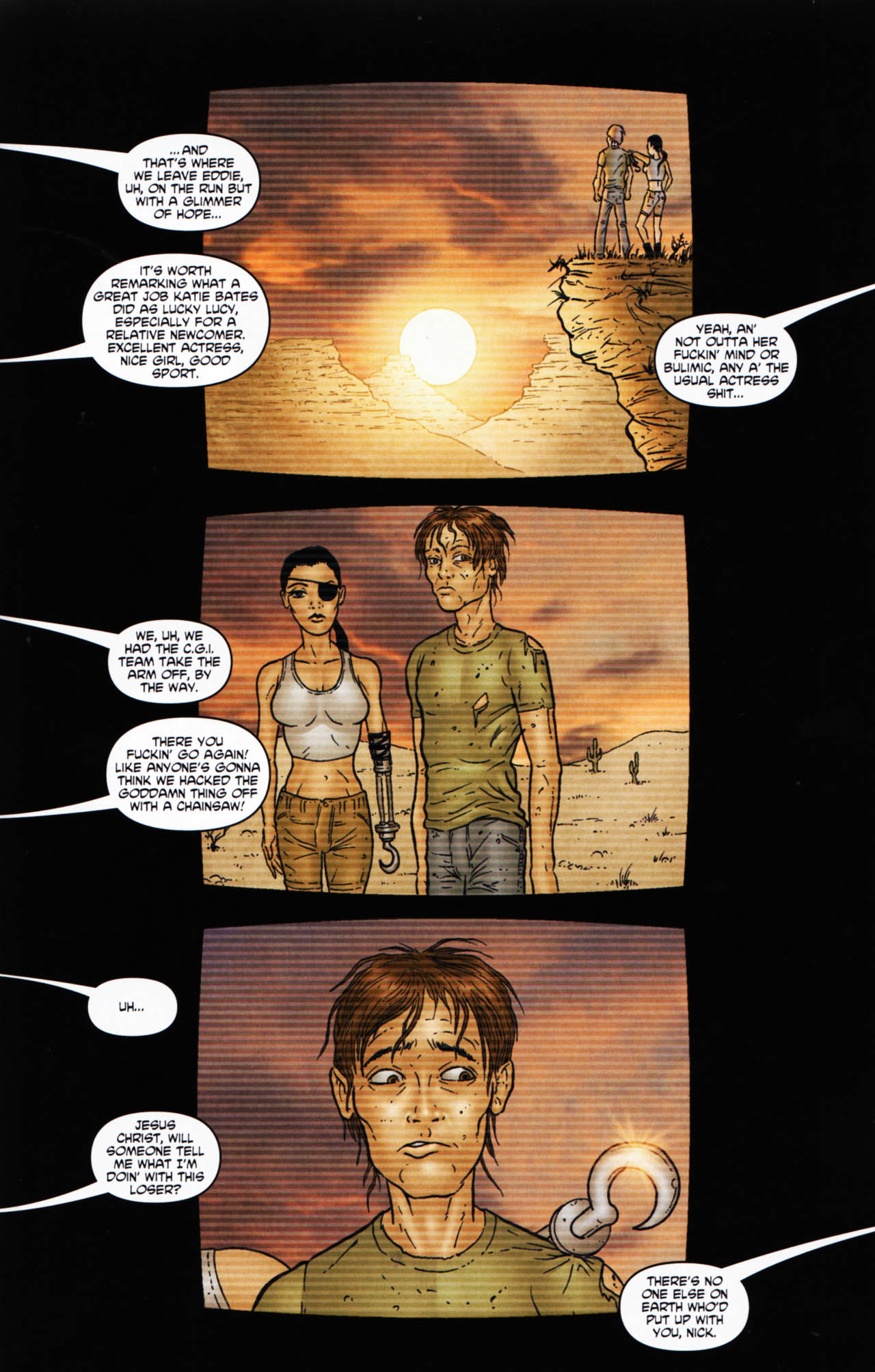 Read online Chronicles of Wormwood: The Last Enemy comic -  Issue # Full - 45