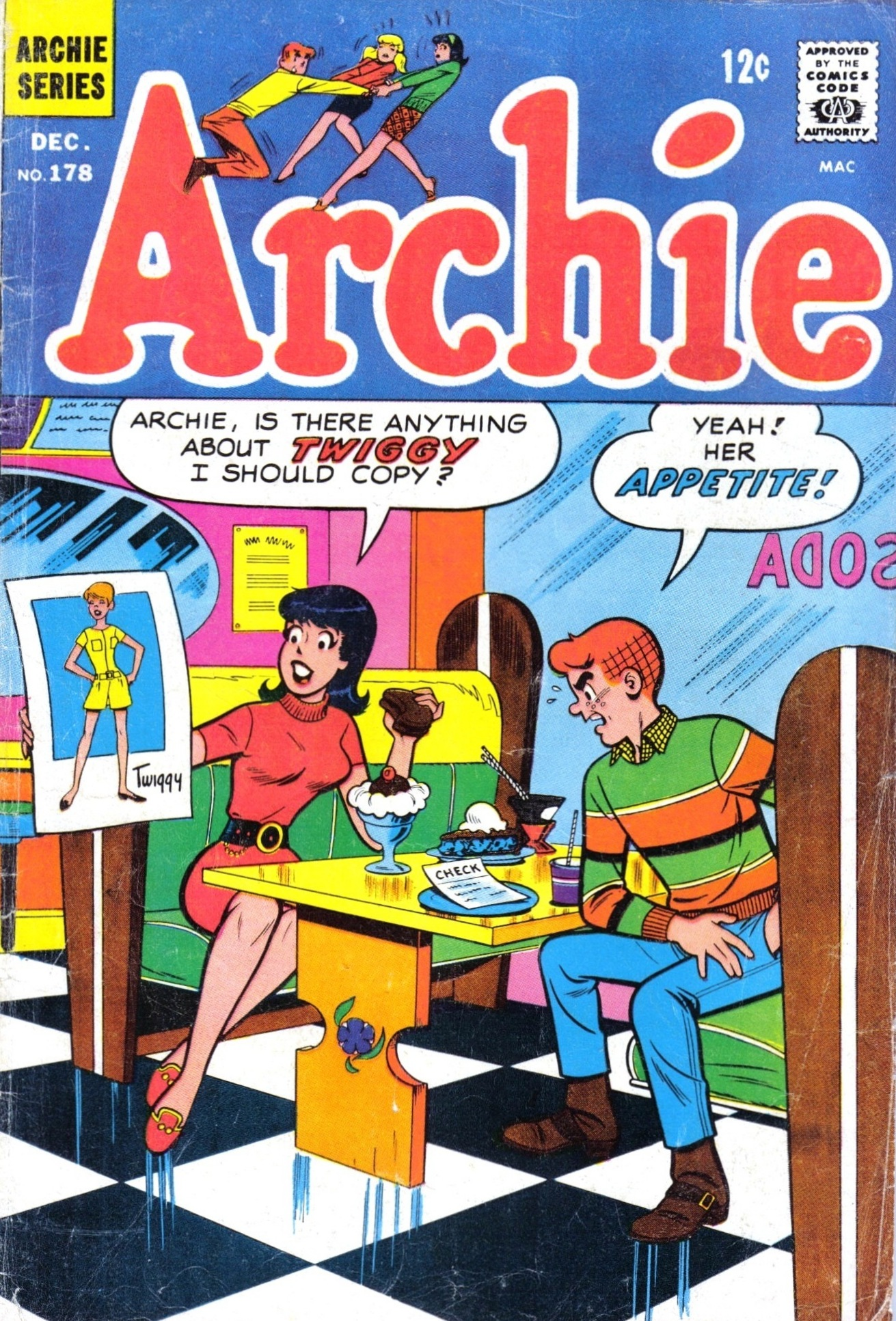 Read online Archie (1960) comic -  Issue #178 - 1