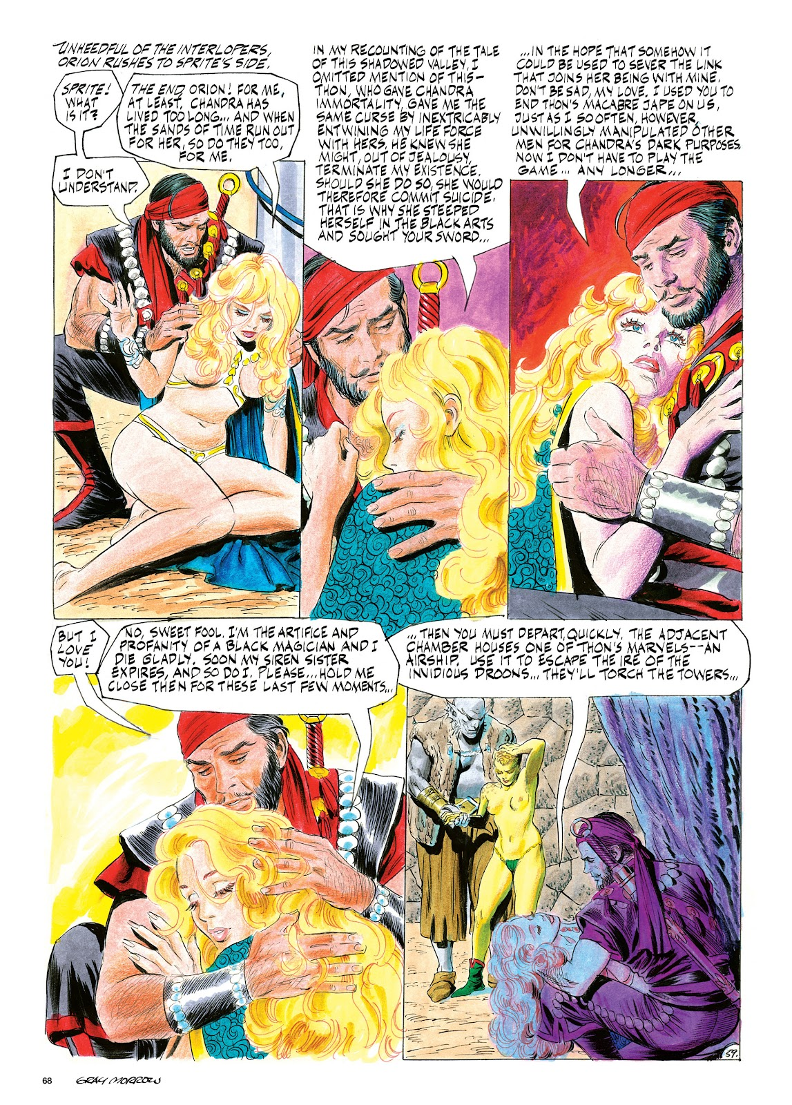Read online Orion and Edge of Chaos comic -  Issue # TPB - 69
