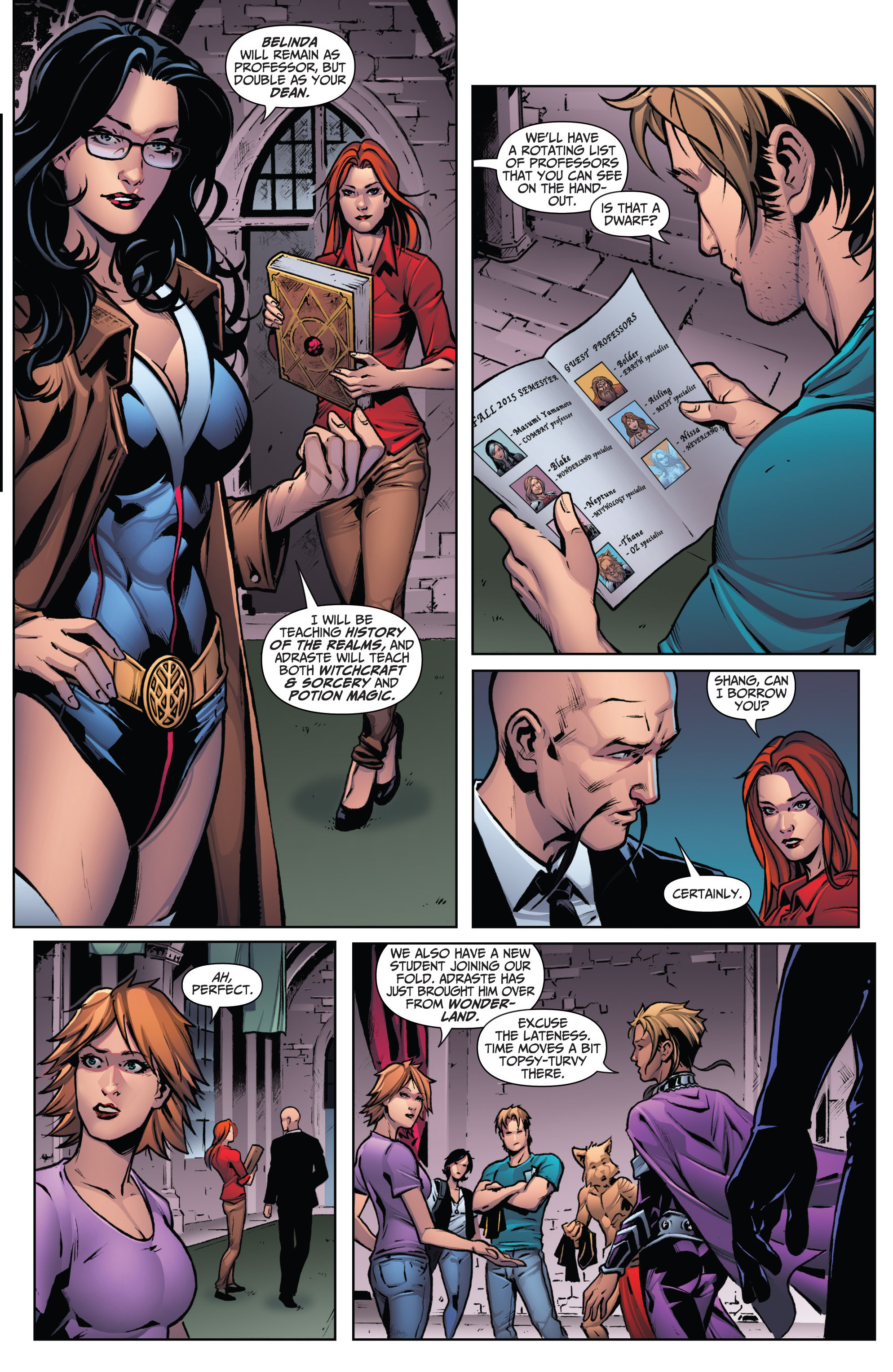Read online Grimm Fairy Tales: Arcane Acre comic -  Issue # TPB 3 - 11