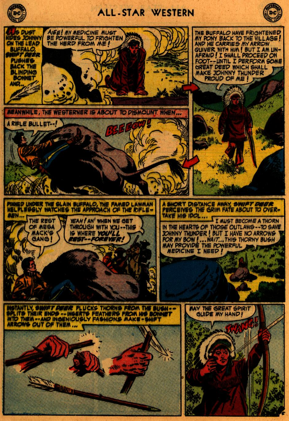 Read online All-Star Western (1951) comic -  Issue #73 - 32