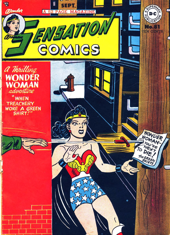 Read online Sensation (Mystery) Comics comic -  Issue #81 - 1