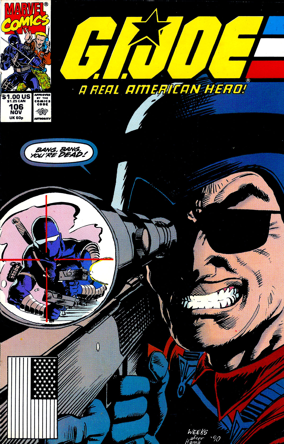 G.I. Joe: A Real American Hero 106 Page 1