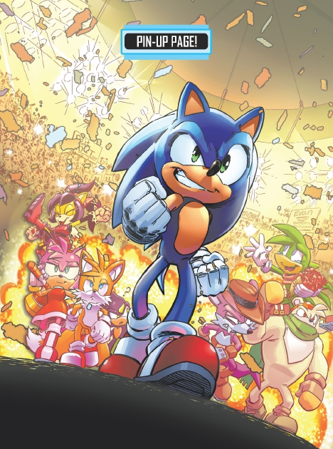 Read online Sonic Comics Spectacular: Speed of Sound comic -  Issue # Full - 255