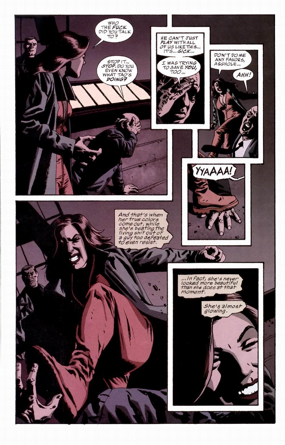 Read online Sleeper comic -  Issue #3 - 15