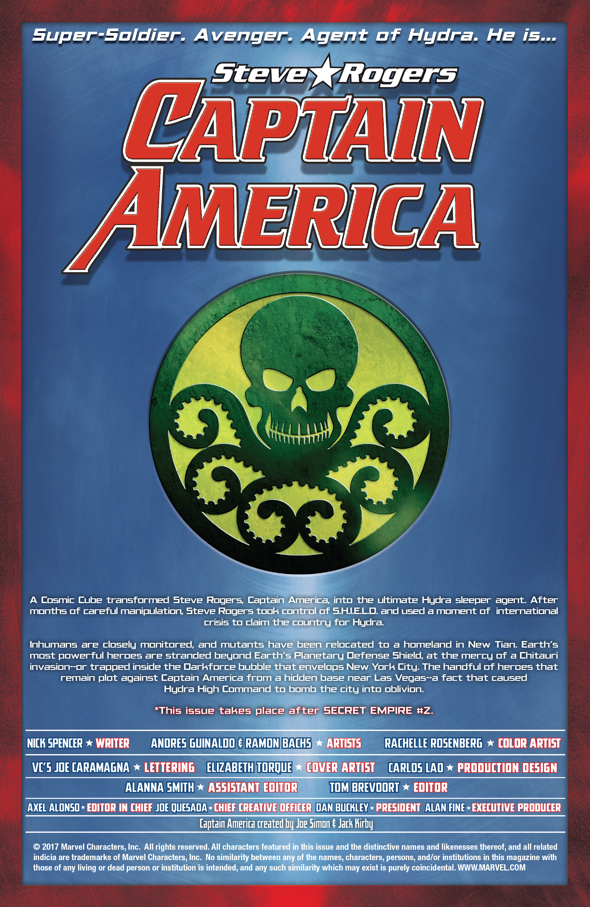 Read online Captain America: Steve Rogers comic -  Issue #17 - 2