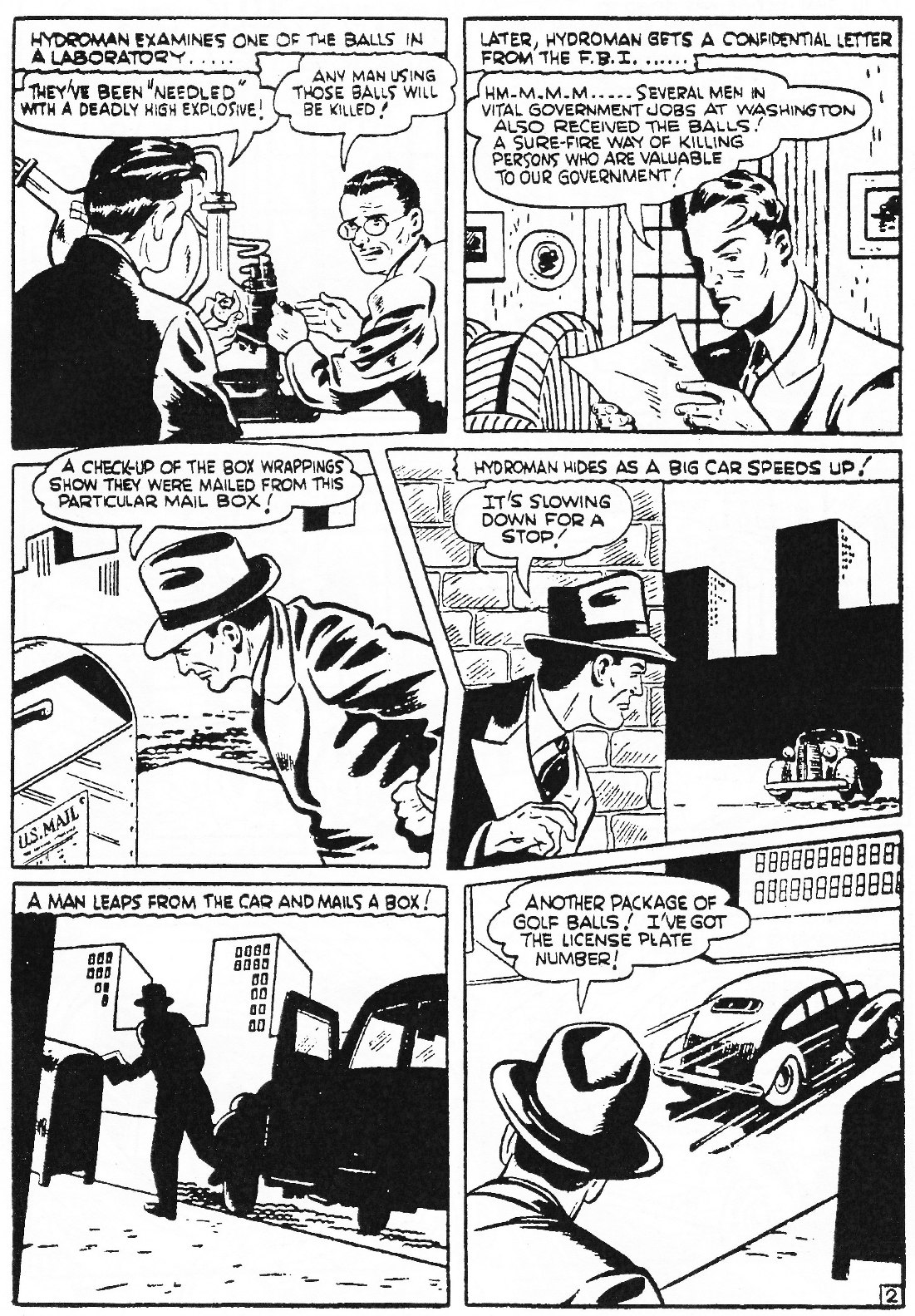 Read online Men of Mystery Comics comic -  Issue #72 - 35
