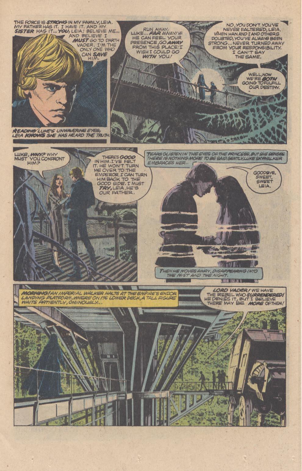 Read online Star Wars: Return of the Jedi comic -  Issue #3 - 19
