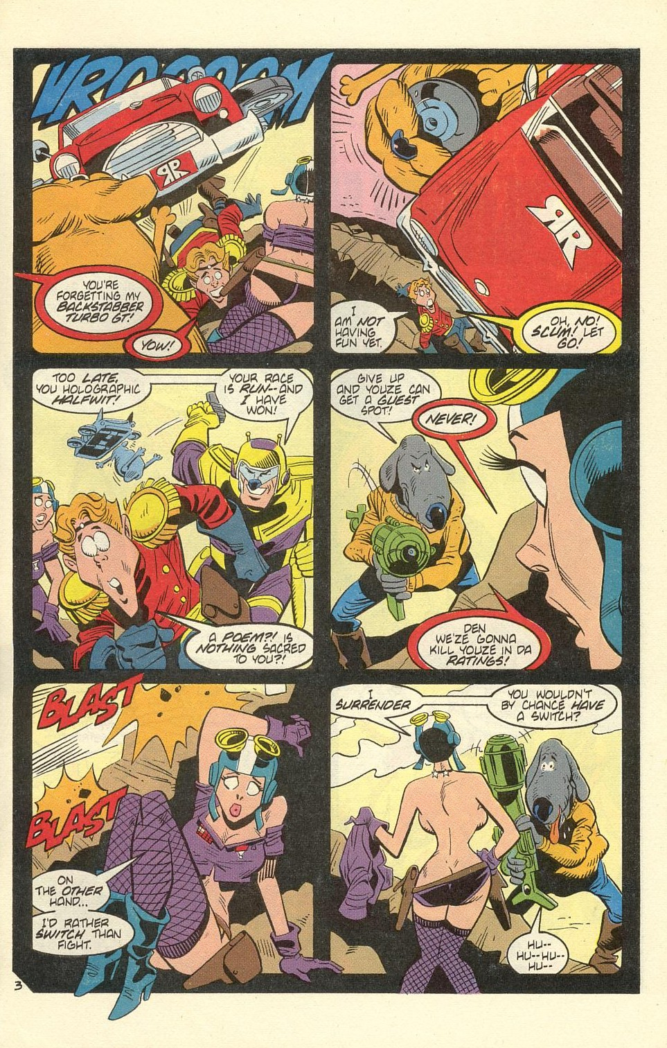 Read online American Flagg! comic -  Issue #40 - 29