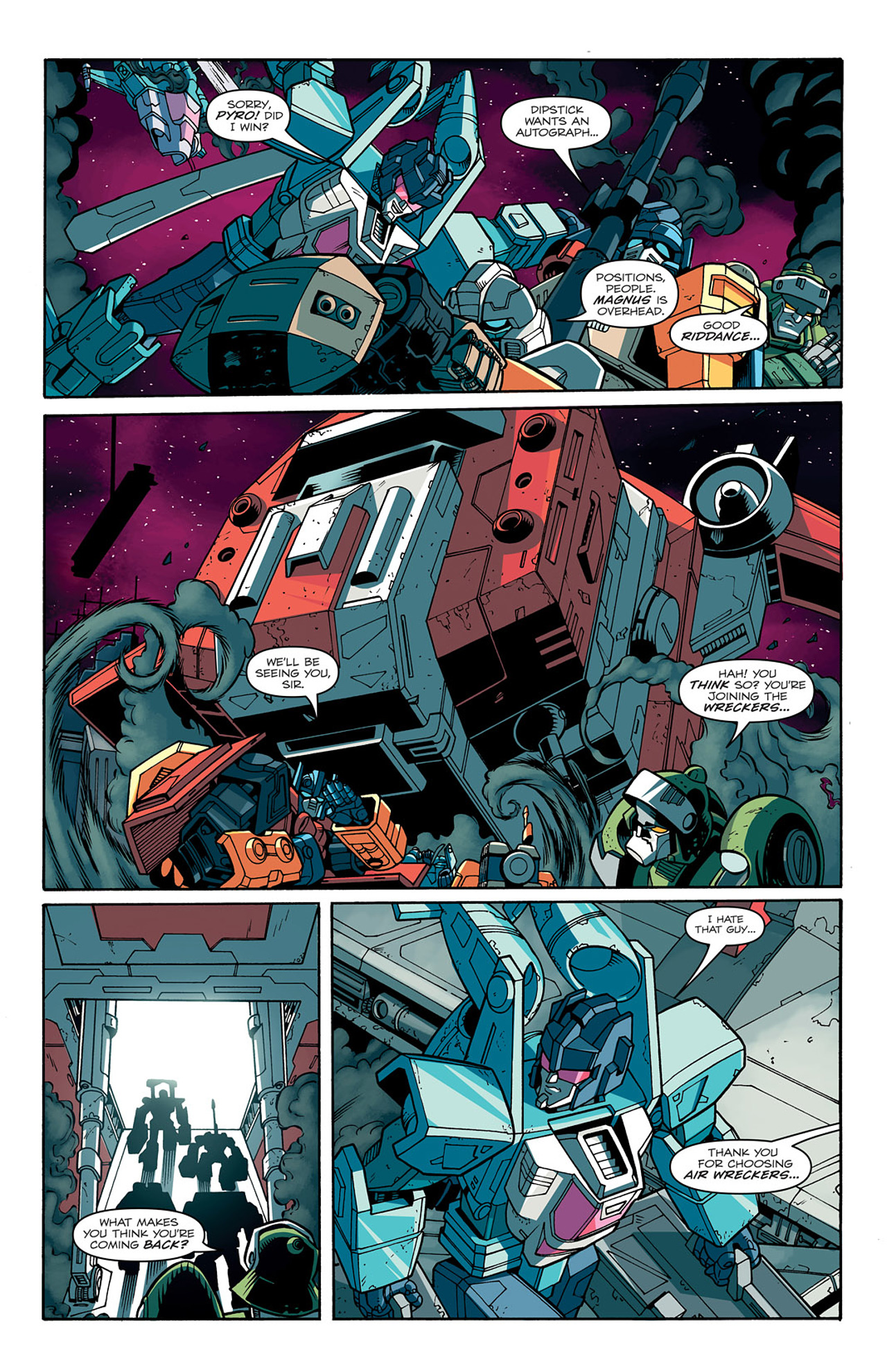 Read online Transformers: Last Stand of The Wreckers comic -  Issue #1 - 12