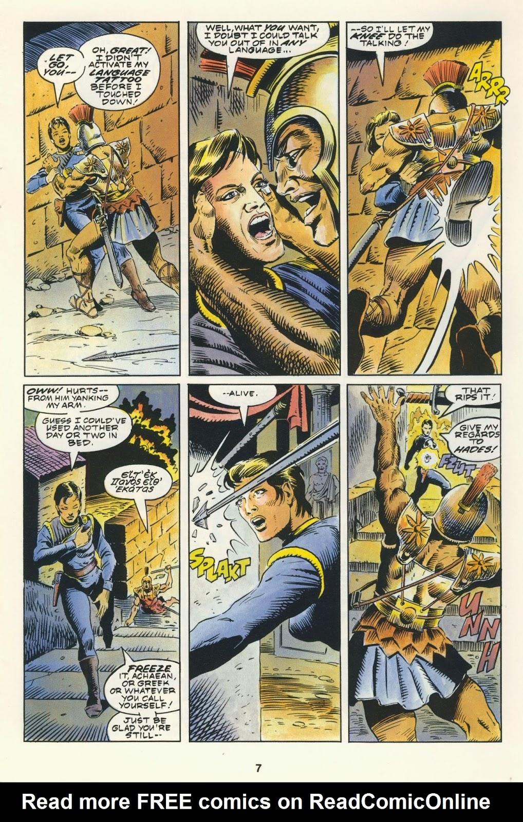 Warhawks issue 4 - Page 9